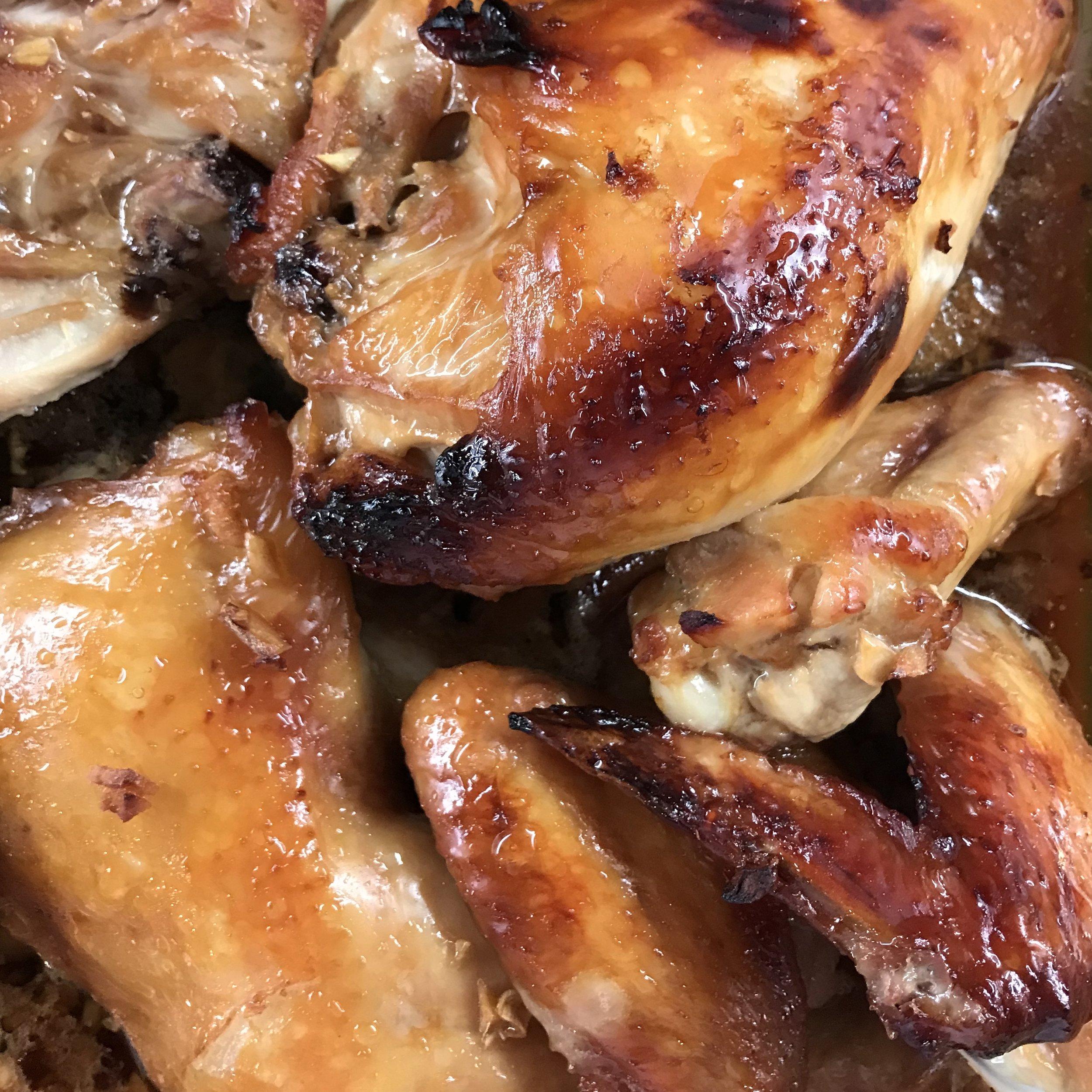 Indonesian Ginger Chicken . Barefoot Contessa Cookbook . Week 23
