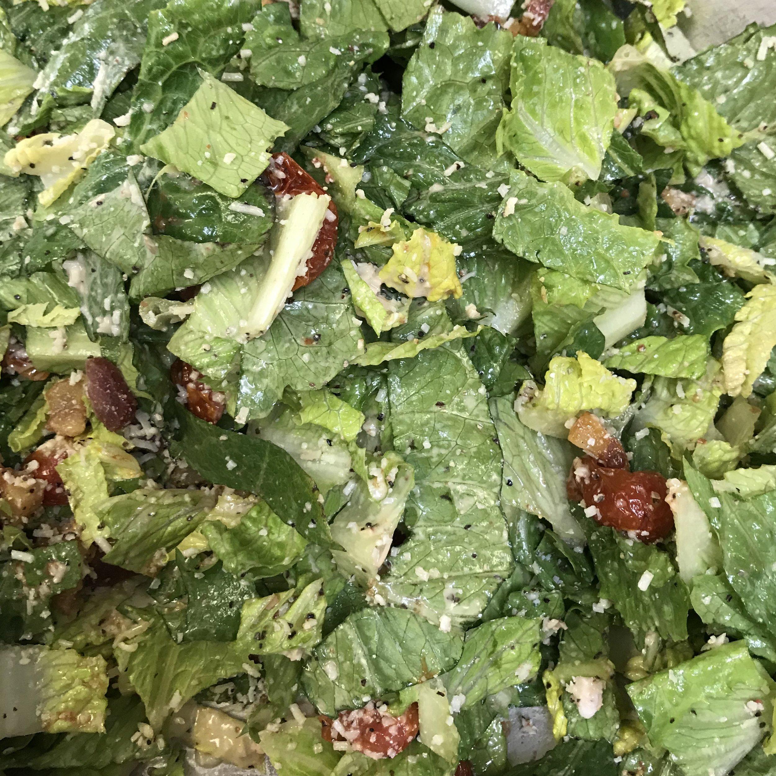 Caesar Salad with Pancetta . Barefoot Contessa Parties! . Week 24