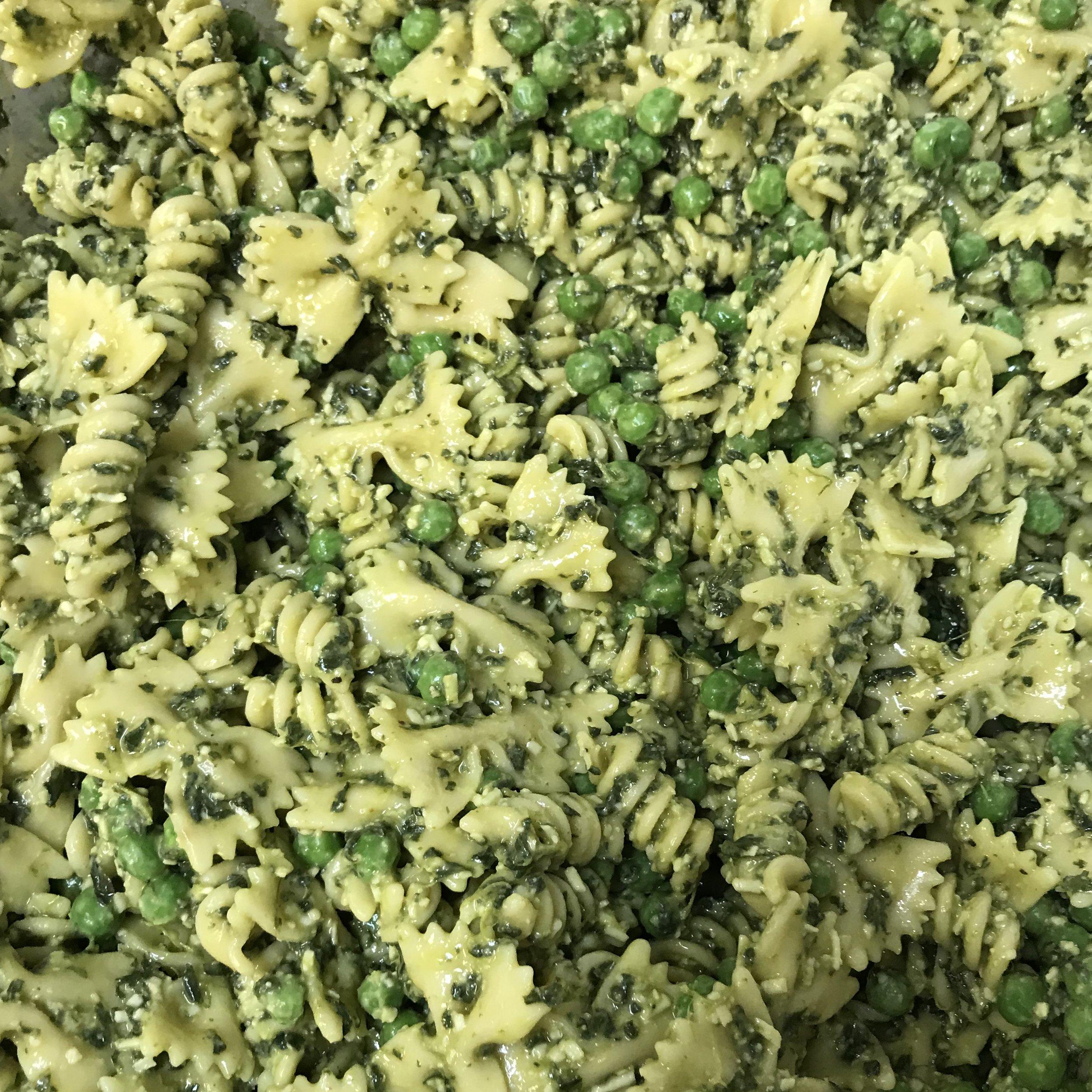 Pasta, Pesto & Peas . Barefoot Contessa Parties! . Week 25