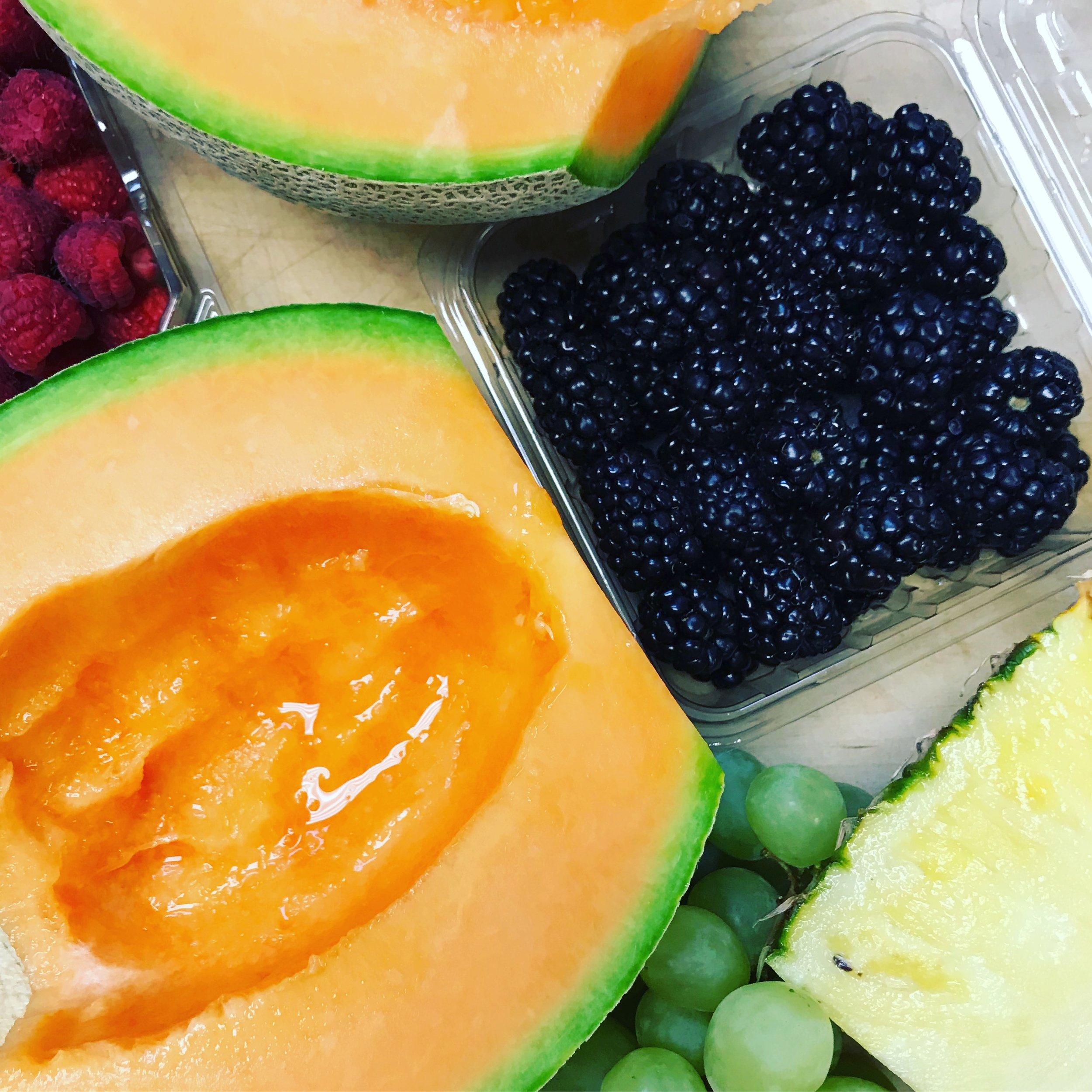 Fresh Fruit Platter . Barefoot Contessa Cookbook . Week 25