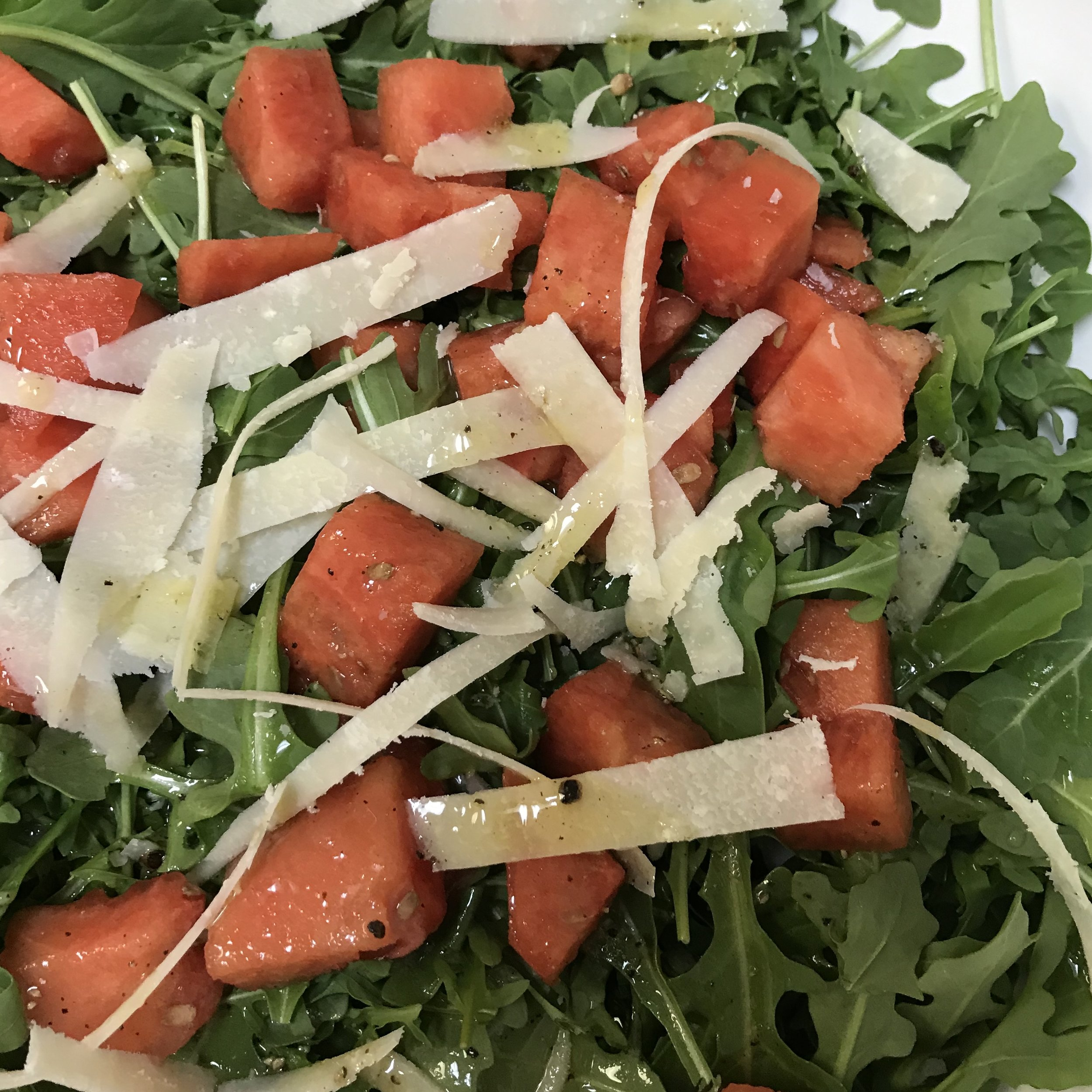 Watermelon & Arugula Salad . How Easy Is That? . Week 30