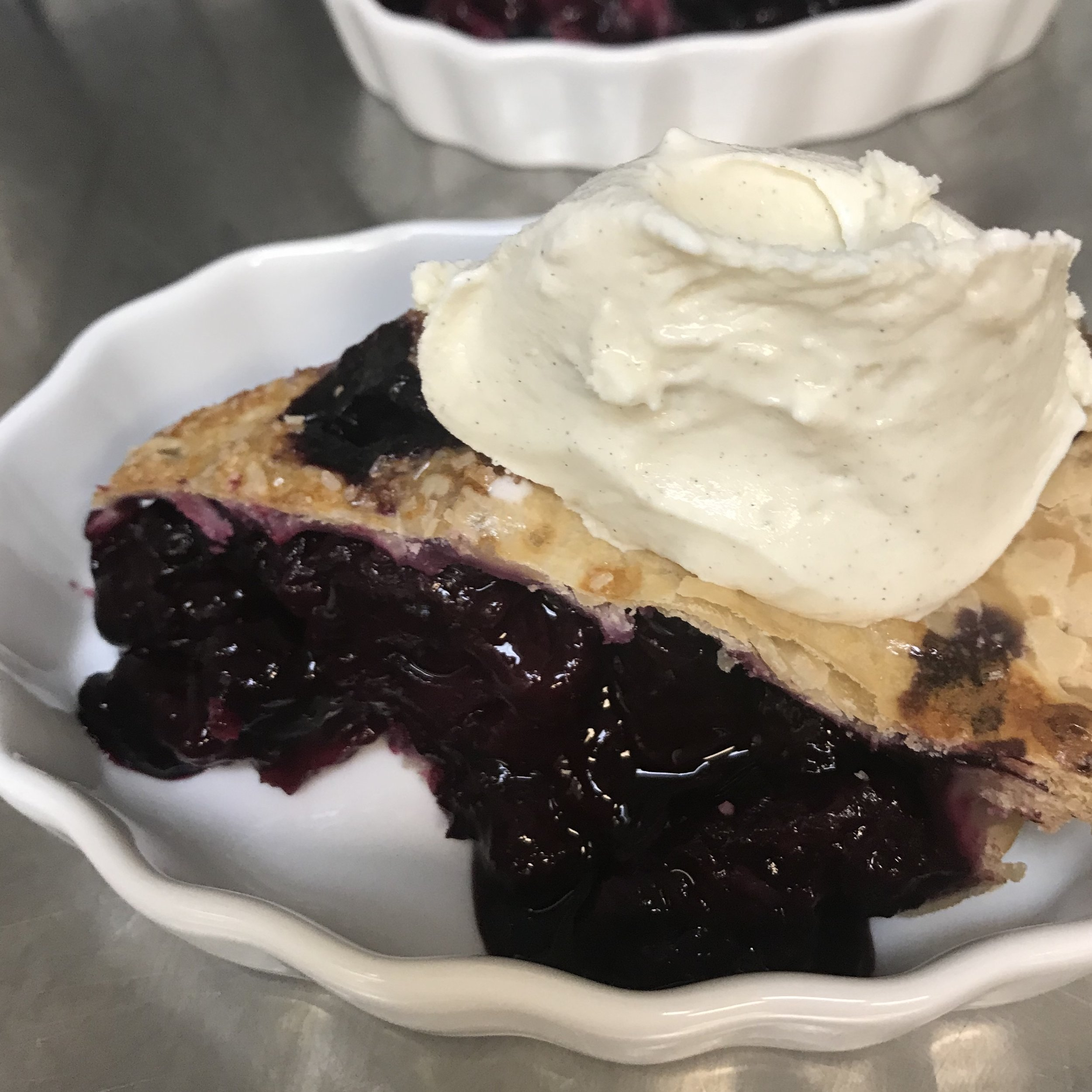 Fresh Blueberry Pie . Make It Ahead . Week 30