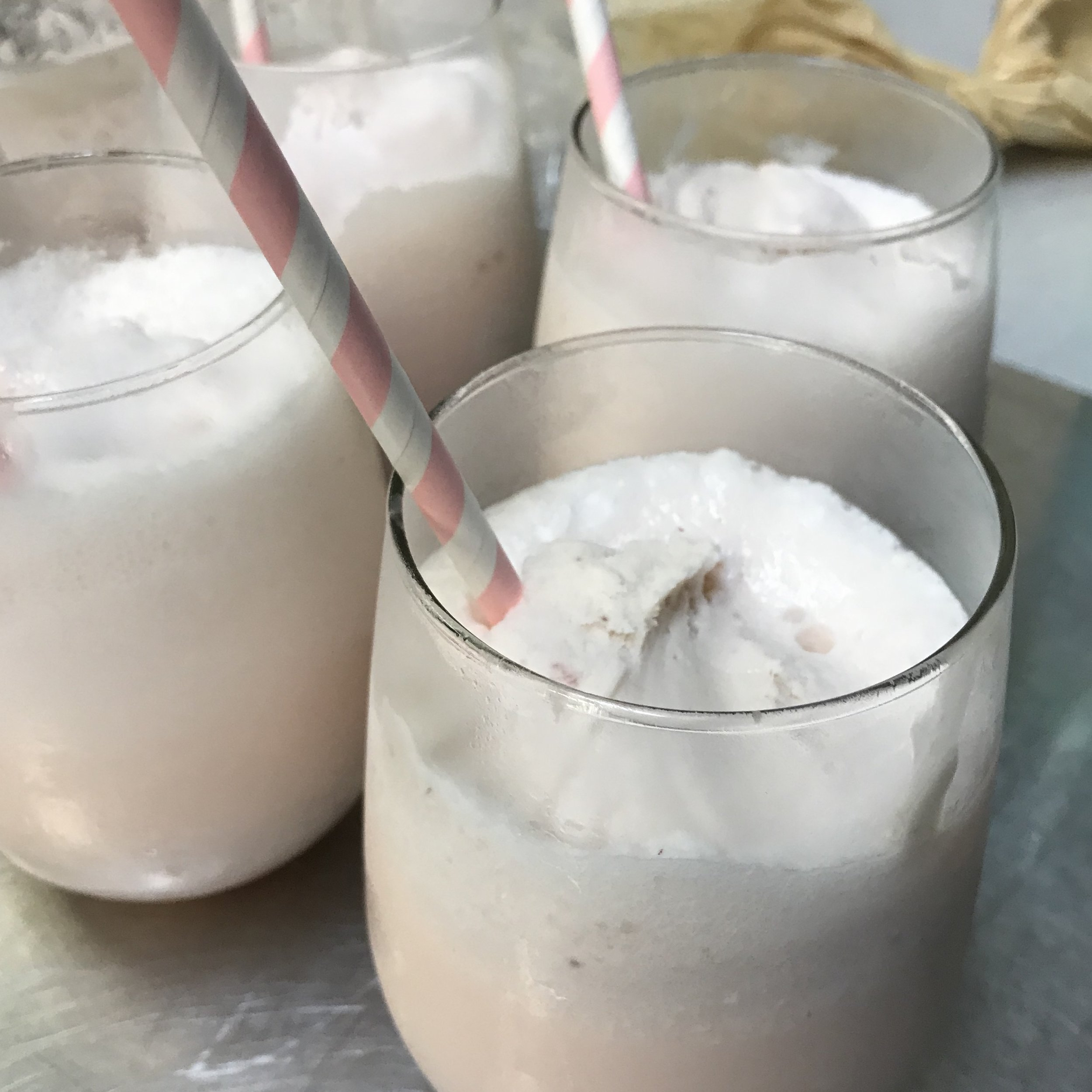 Ice Cream Sodas, Strawberry Syrup . Barefoot Contessa Parties! . Week 33