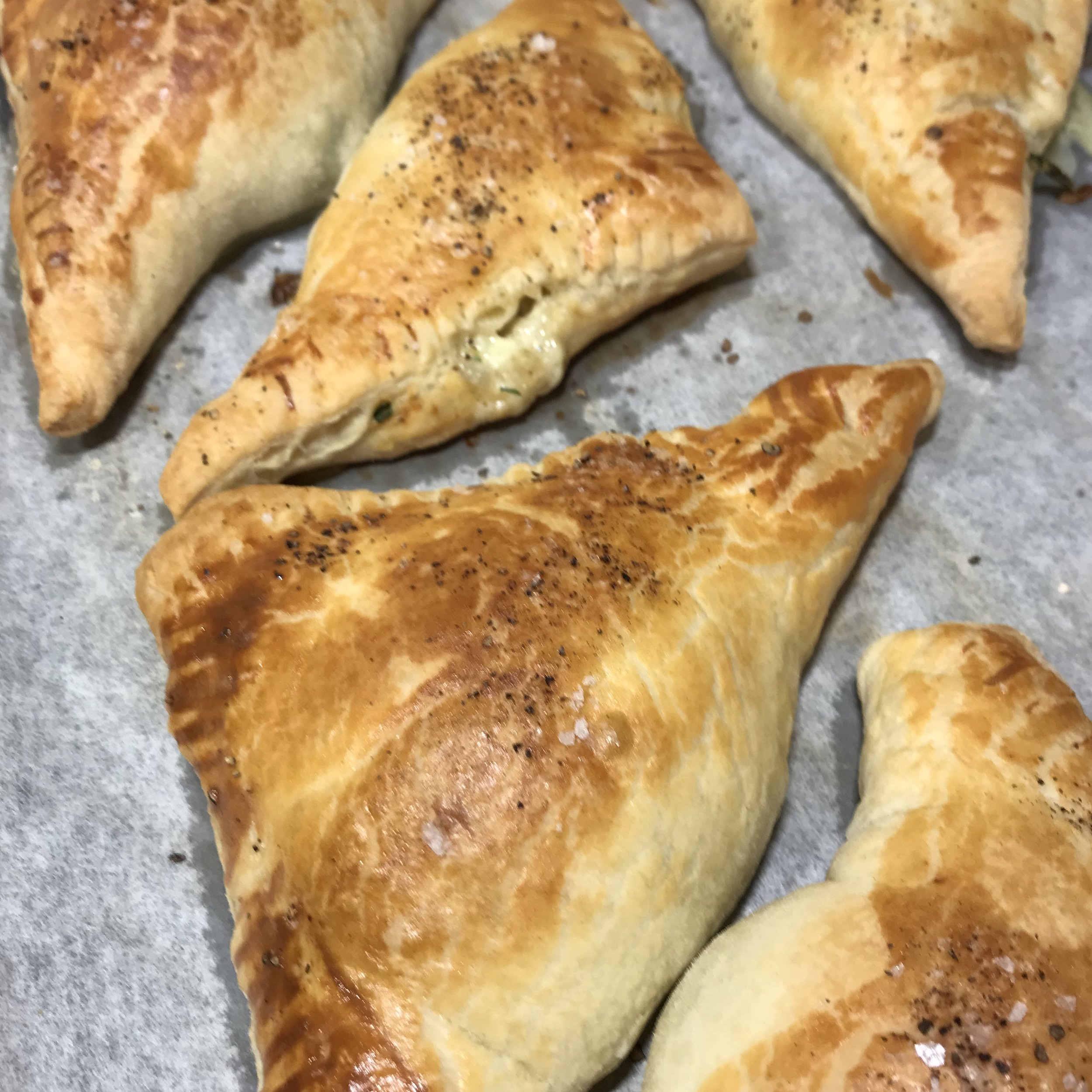 Ham & Leek Empanadas . Make It Ahead . Week 33