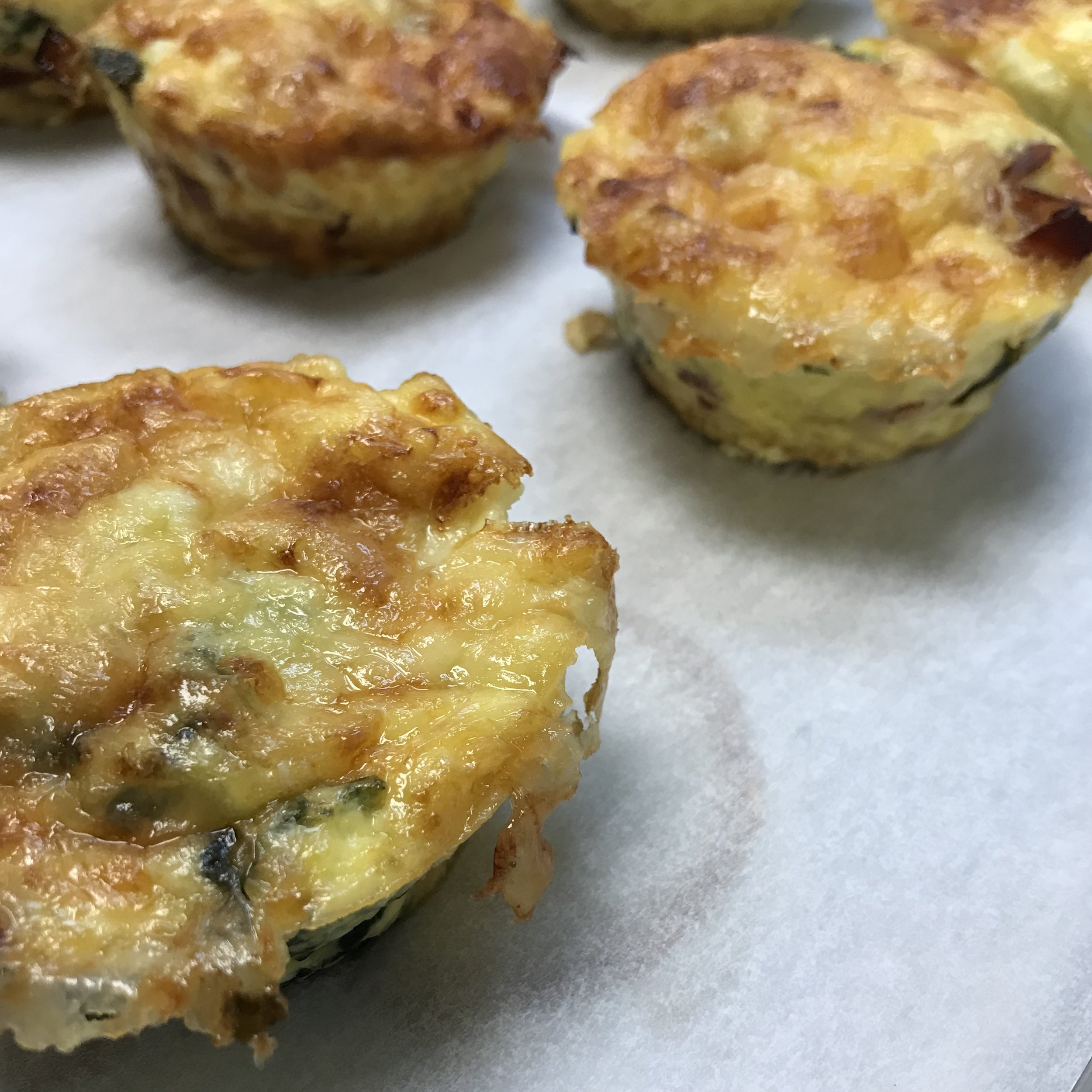 Mini Italian Frittatas . Make It Ahead . Week 33