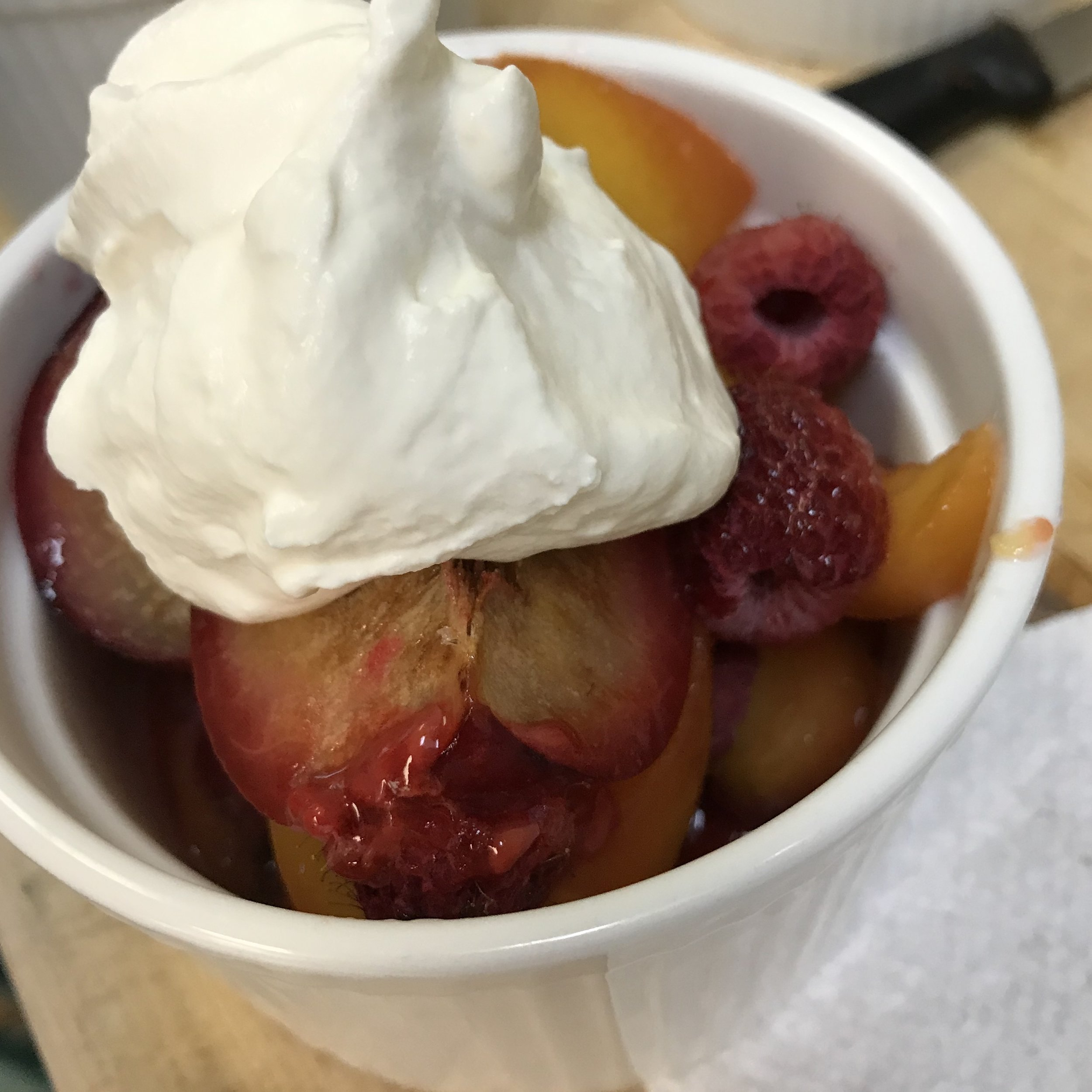Oven Roasted Fruit . Barefoot Contessa Parties! . Week 34