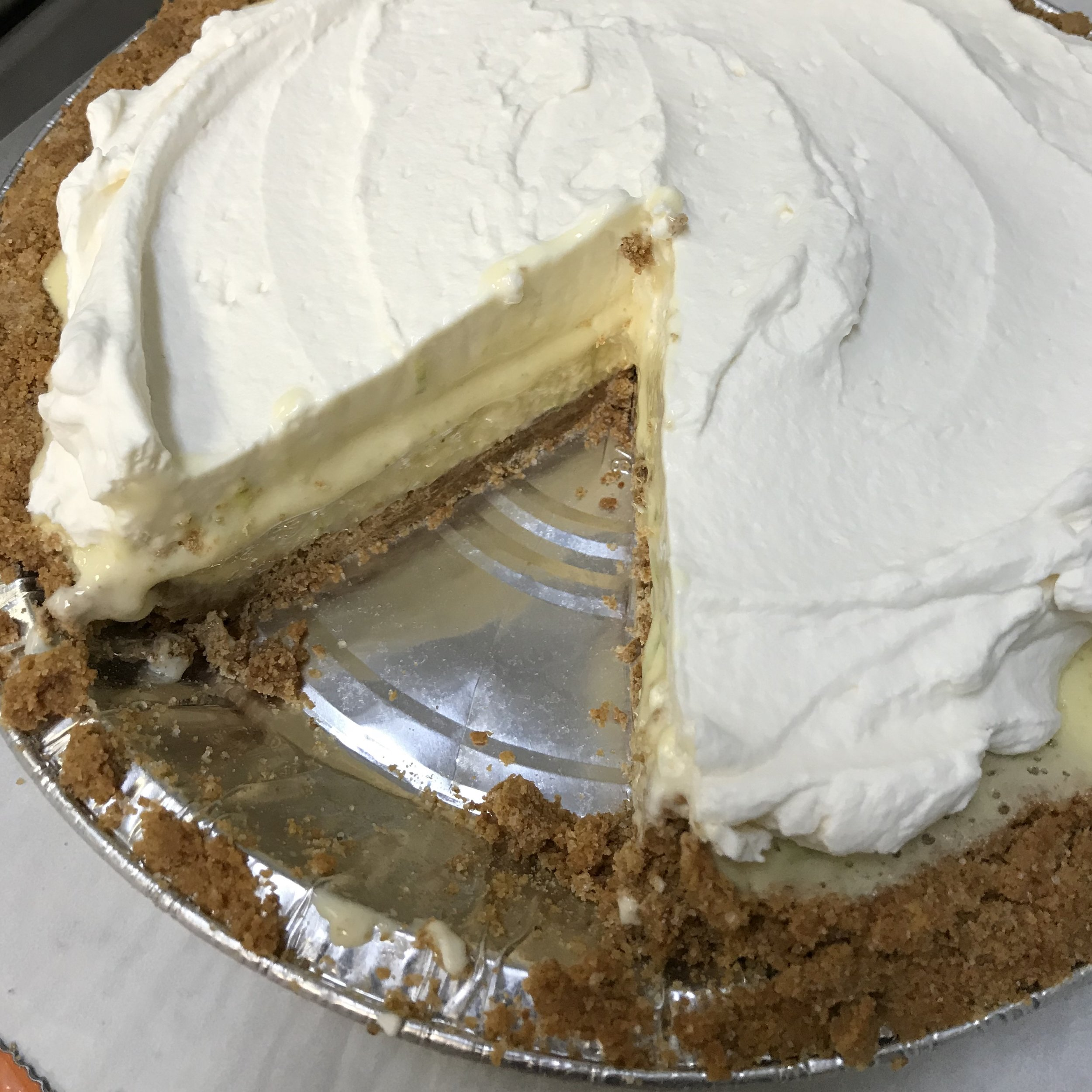Frozen Key Lime Pie . Family Style . Week 34