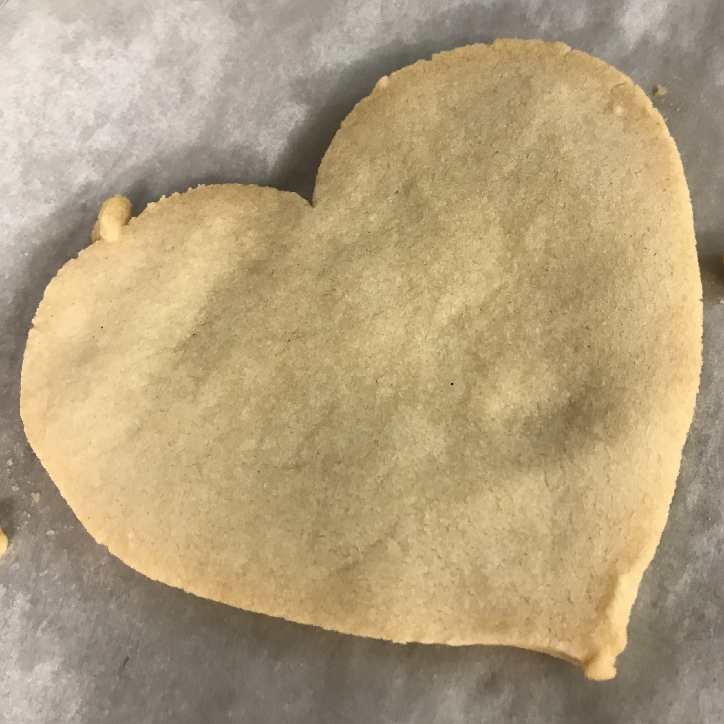 Shortbread Hearts . Barefoot Contessa Cookbook . Week 36