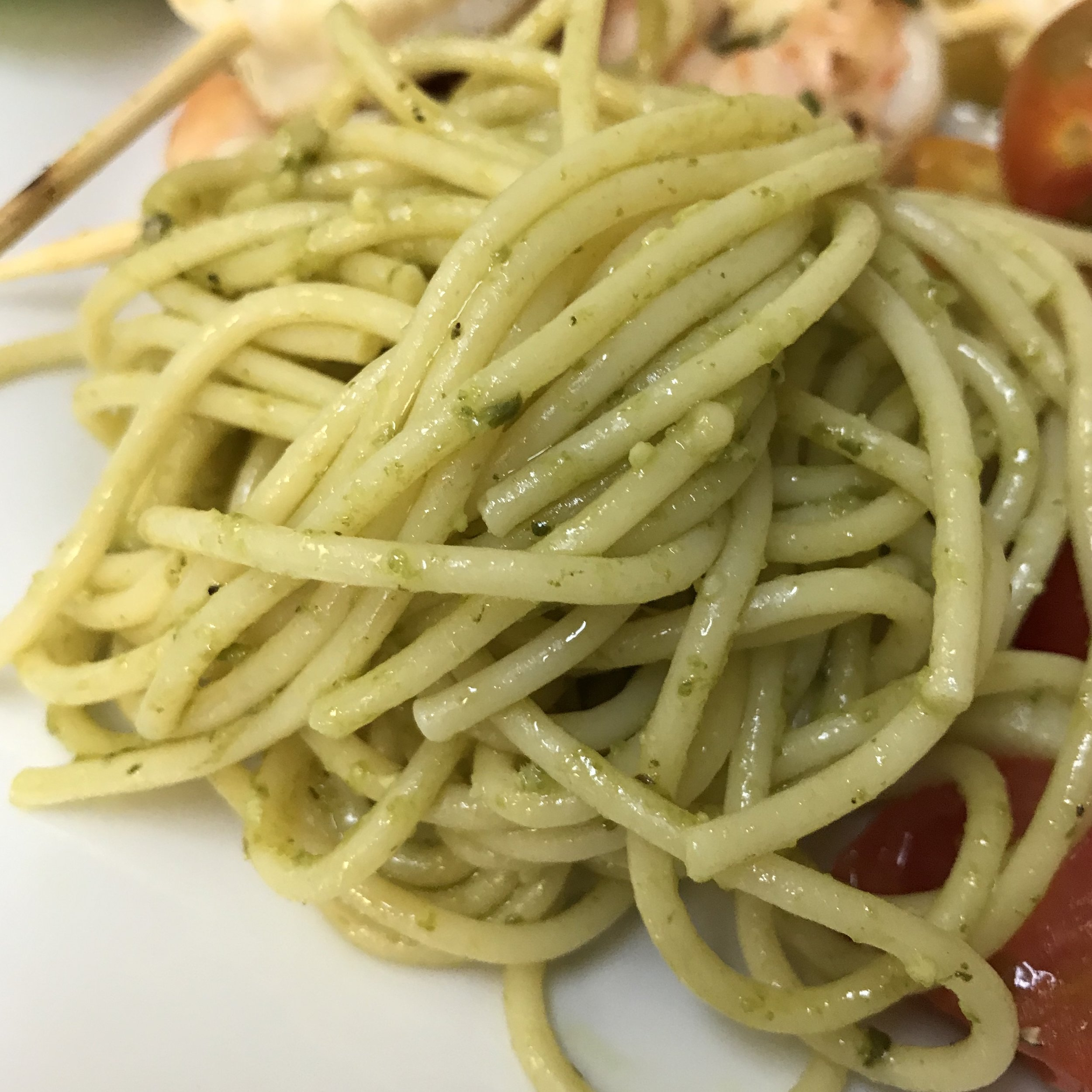 Spechettoni Al Pesto with Homemade Pesto . Barefoot Contessa Parties! . Week 37