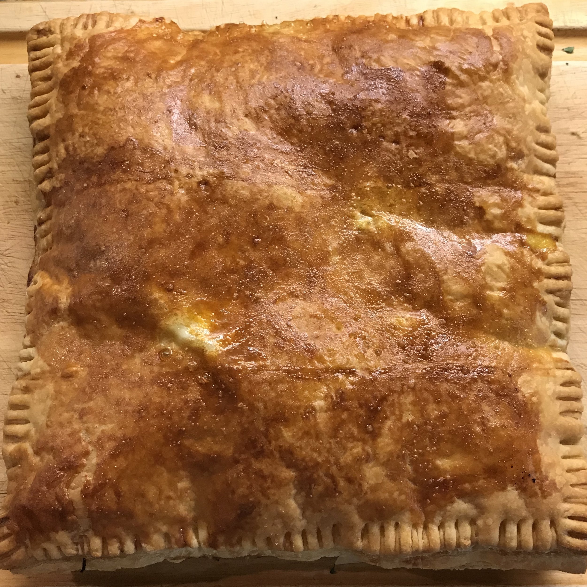 Soppressata & Cheese in Puff Pastry . How Easy Is That? . Week 38