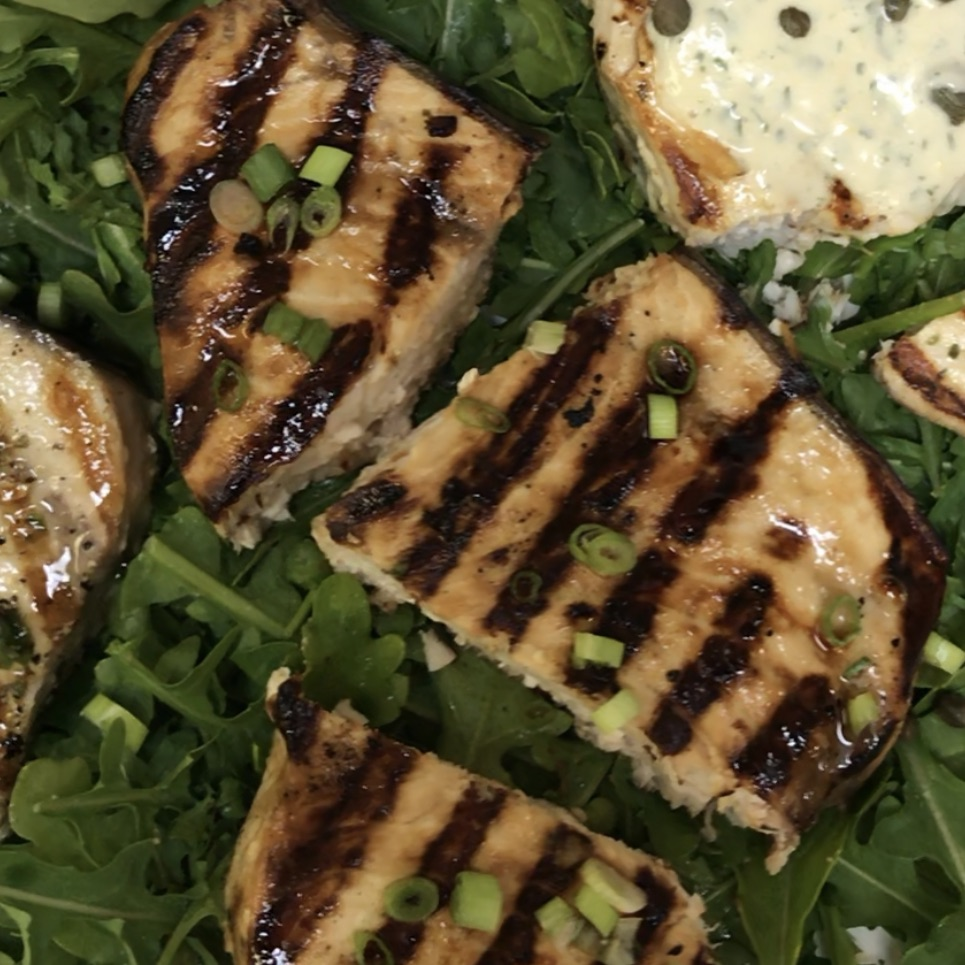 Indonesian Grilled Swordfish . Back to Basics . Week 38