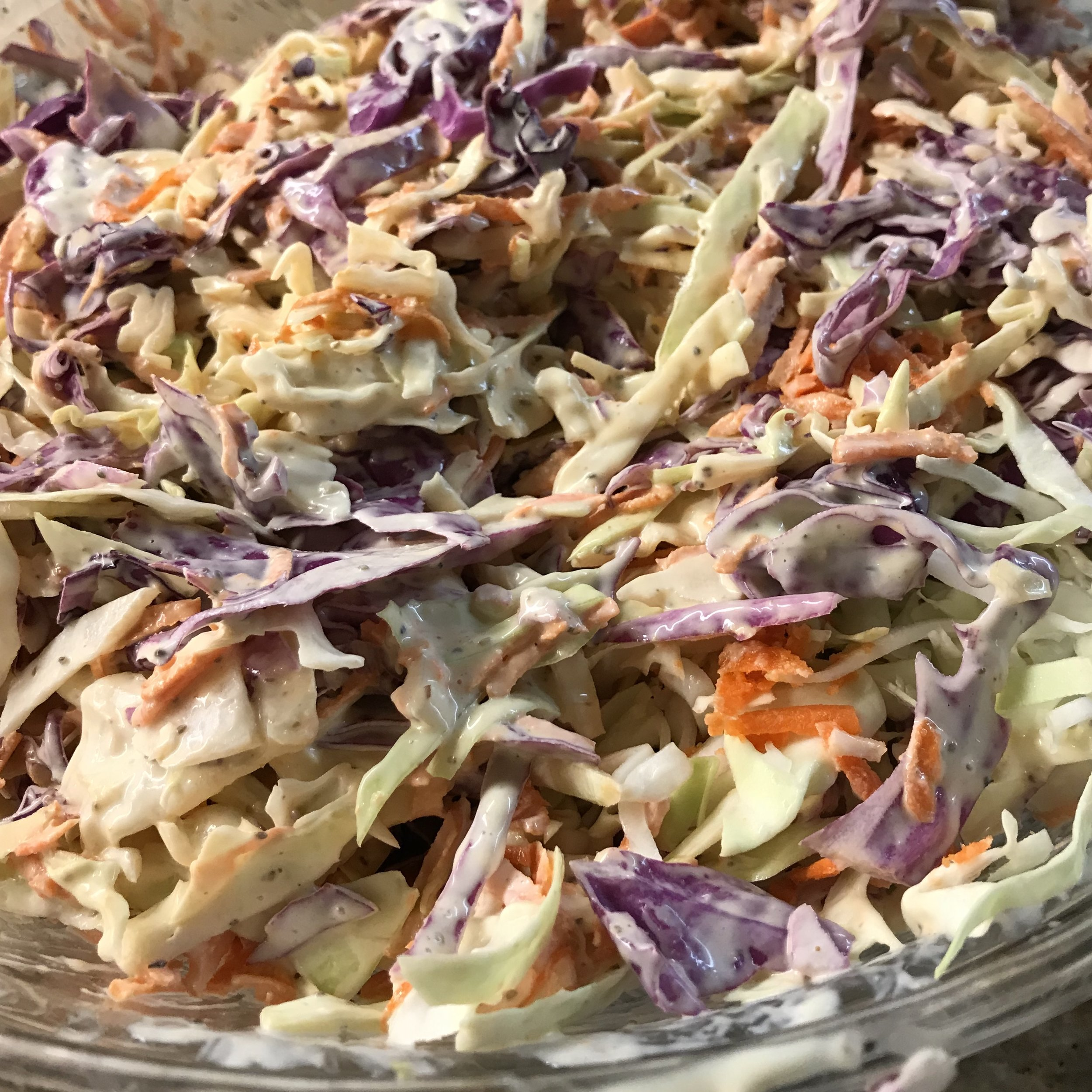 Vegetable Coleslaw . Barefoot Contessa Cookbook . Week 39