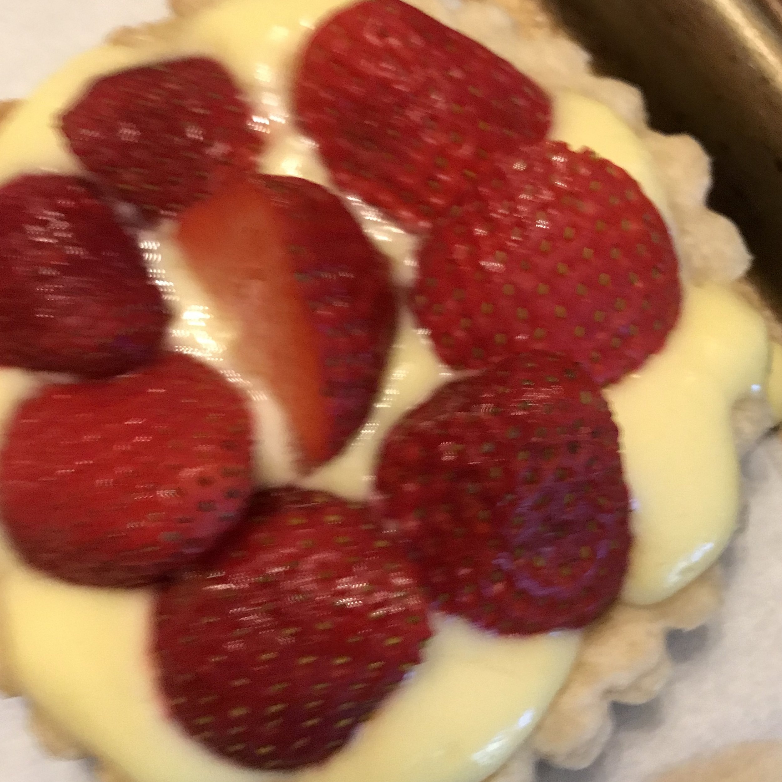 Strawberry Tarts . Barefoot in Paris . Week 42