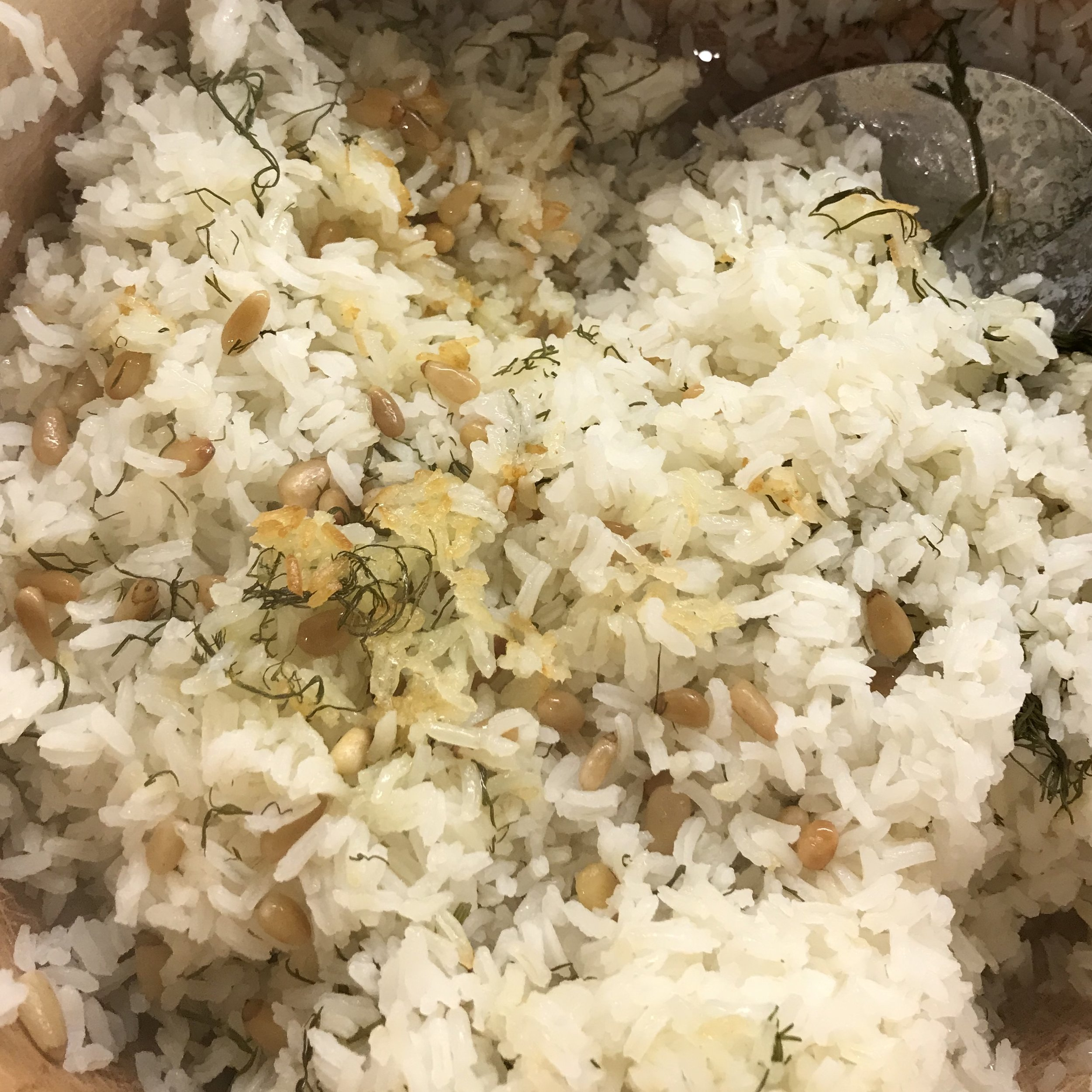 Crusty Basmati Rice . Barefoot Contessa Foolproof . Week 42