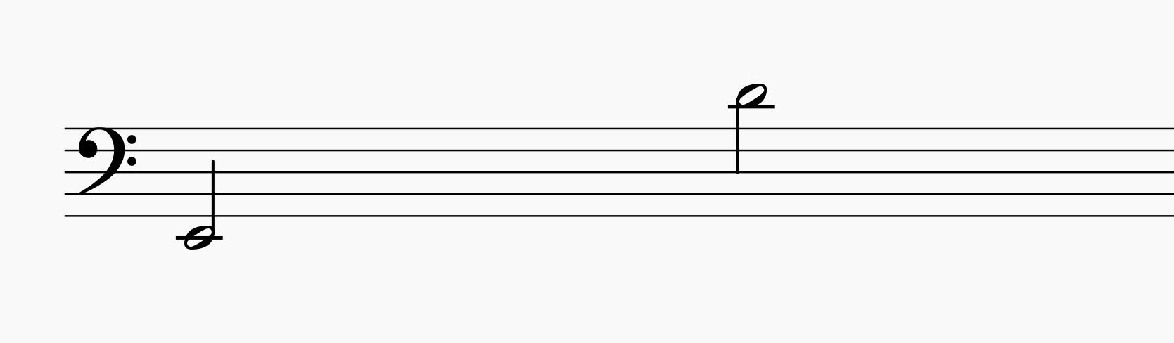 True bass voice range