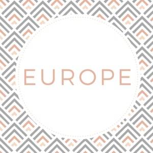 Europe - FRANCE: Paris, StrasbourgIRELAND: Bray, Dublin, HowthITALY: Cinque Terre, Florence, Pisa, Rome, Venice, VeronaSPAIN: Alcalá de Henares, Madrid, Toledo, SalamancaDENMARK: CopenhagenHUNGARY: BudapestPORTUGAL: Lisbon, Sintra