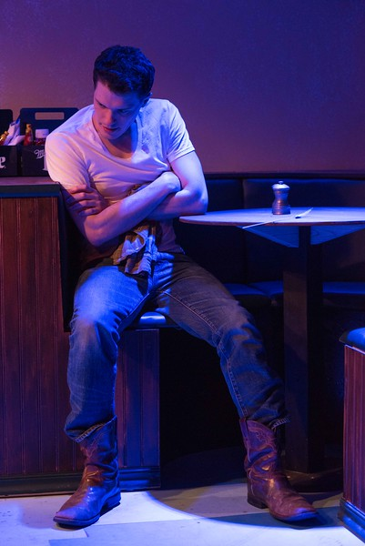 Cody Lucas as THADDEUS with The Agency Theatre Collective  photo by Bill Richert