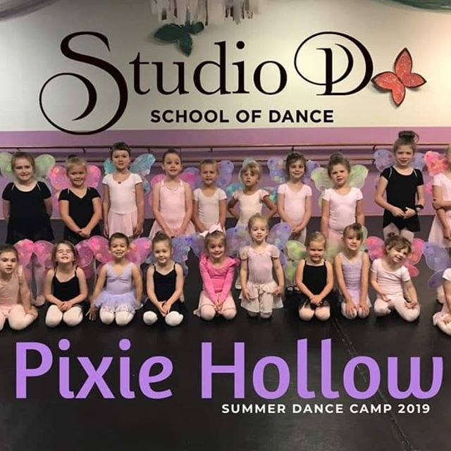 """""""Pixie Hollow"""" camp is a wrap!  These dancers shined and we couldn't be more proud of each of them. Beautiful job girls, you worked so hard and it definitely showed."""