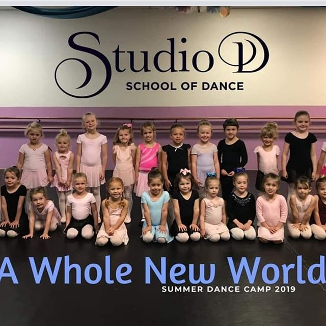 """These dancers have been in """"A Whole New World"""" with this camp! We are absolutely thrilled to have these girls with us in our last week of Kid's Summer Dance Camps."""