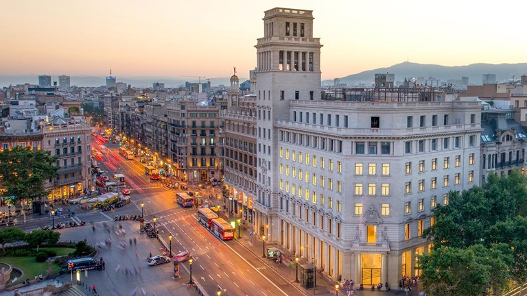 Iberostar Paseo de Gracia has a prime location near many of Barcelona's top attractions.  Credit: 2018 Iberostar Paseo de Gracia