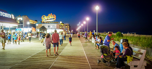 Rehoboth Beach People and Places - Photo courtesy of Ted Etyan