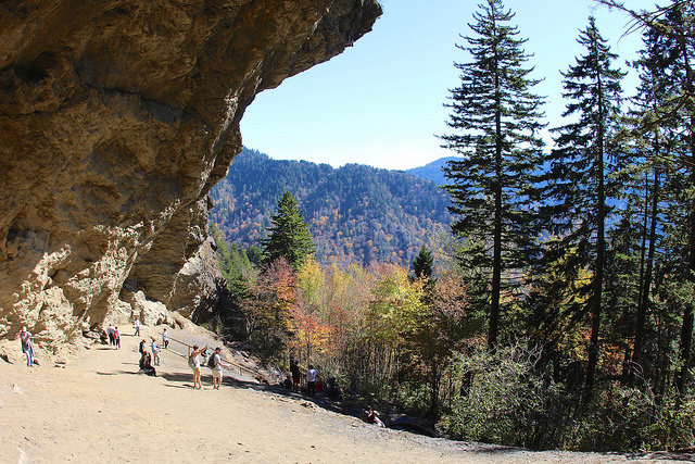 Alum Cave Trail' Bluff in the Smoky Mountains - Photo by  daveynin