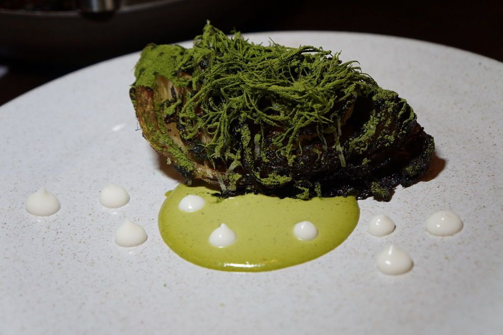 Senia's charred cabbage is a food experience —    Photo courtesy of Melissa Chang