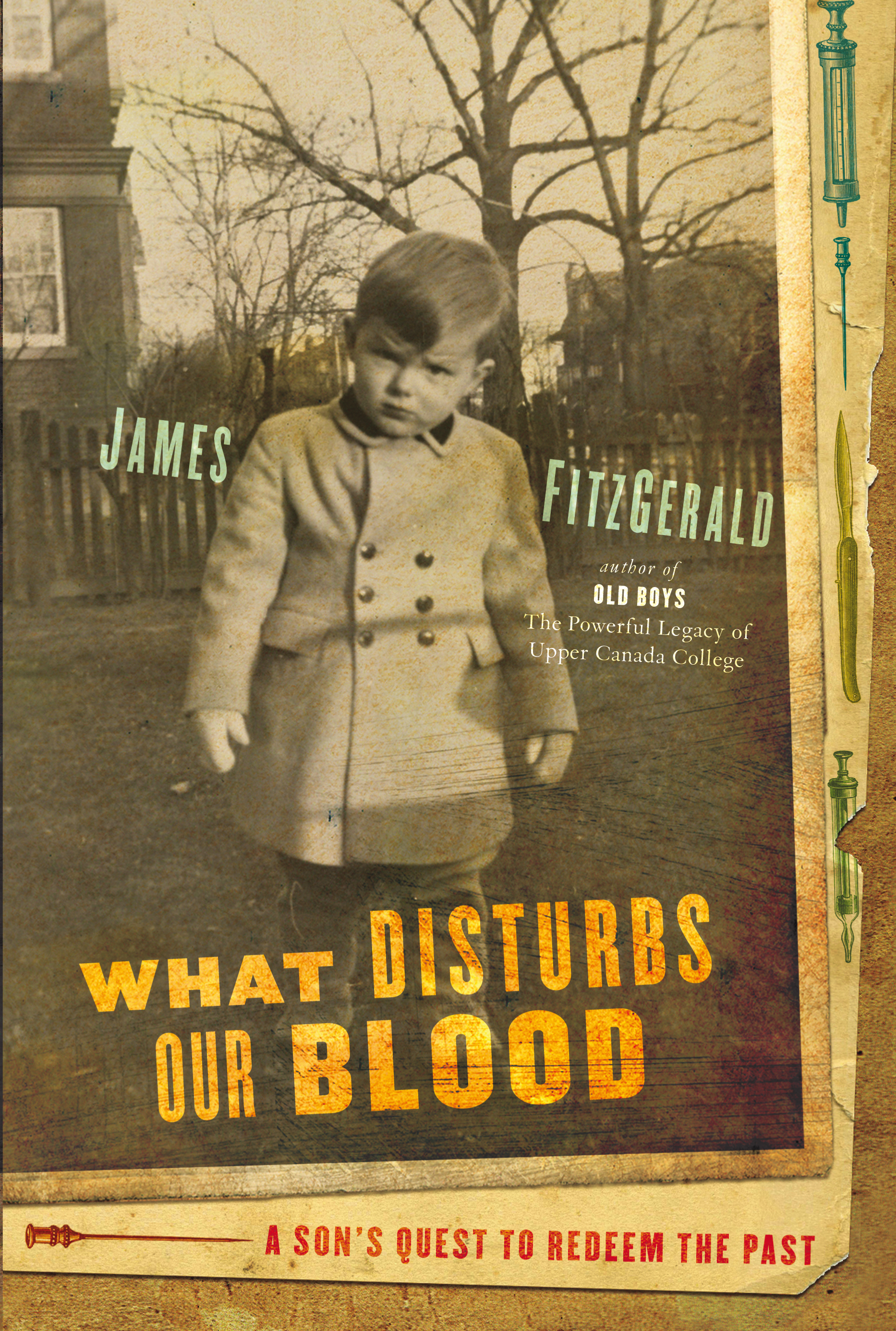 What Disturbs Our Blood - A withdrawn boy is born into the Toronto home of his late grandfather, a brilliant yet tormented pathologist of Irish blood. Like his friends Banting and Best, Dr. John Gerald FitzGerald was a Canadian hero. His vaccines saved untold lives, and he transformed the idea of public health in Canada and the world. What so darkened his reputation that his memory has been all but erased?As the boy watches his own father, also an eminent doctor, plunge into a suicidal psychosis, he intuits some unspeakable secret buried deep in the family unconscious. Growing into manhood, he knows that he must stalk an ancient curse before it stalks him. To set himself free, he must break the silence and put words to the page. His future lies in the past.