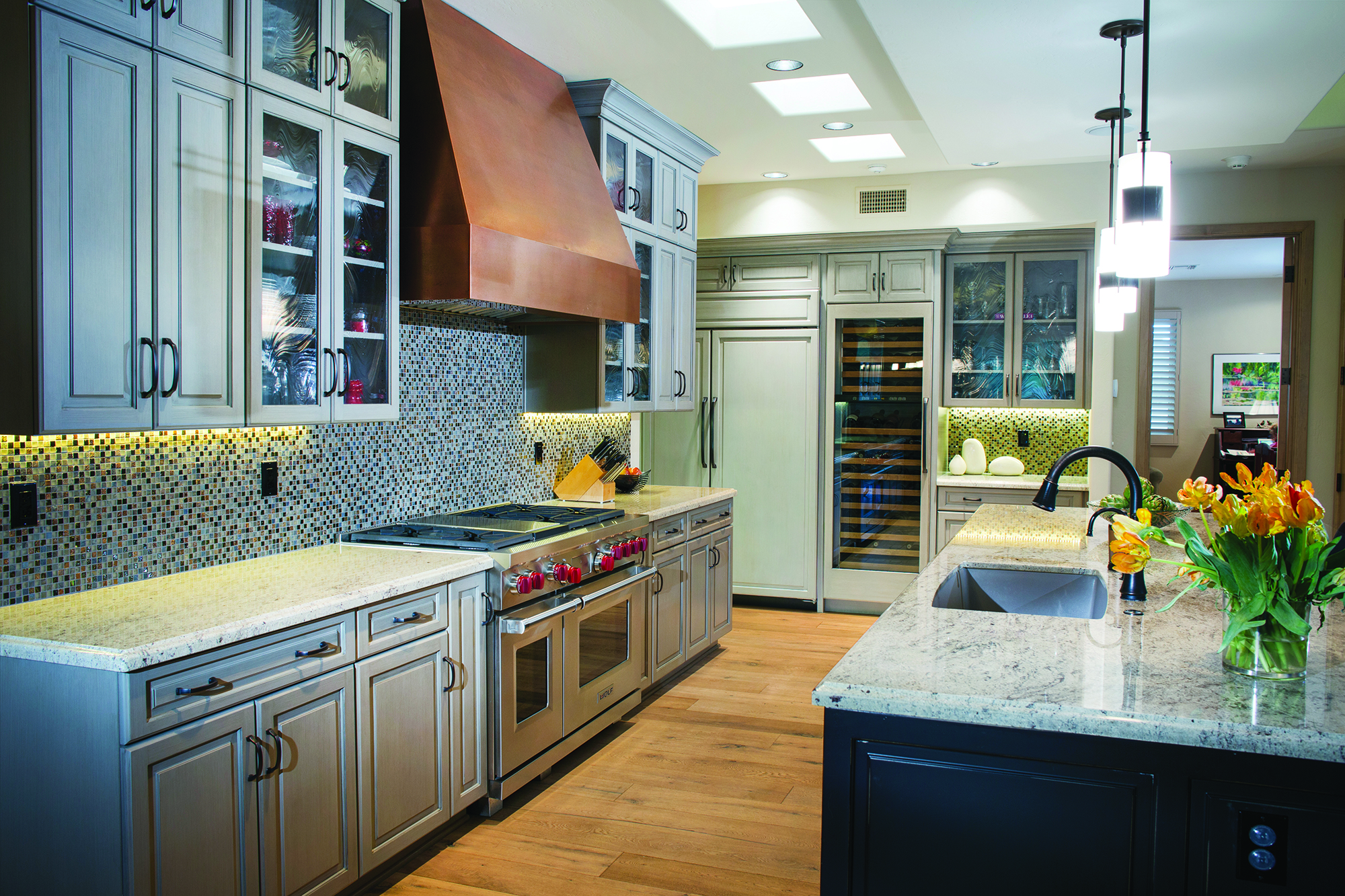 Executive Cabinetry is GREENGUARD Gold Certified, uses waterborne finishes and offers the option for FSC-certified woods.
