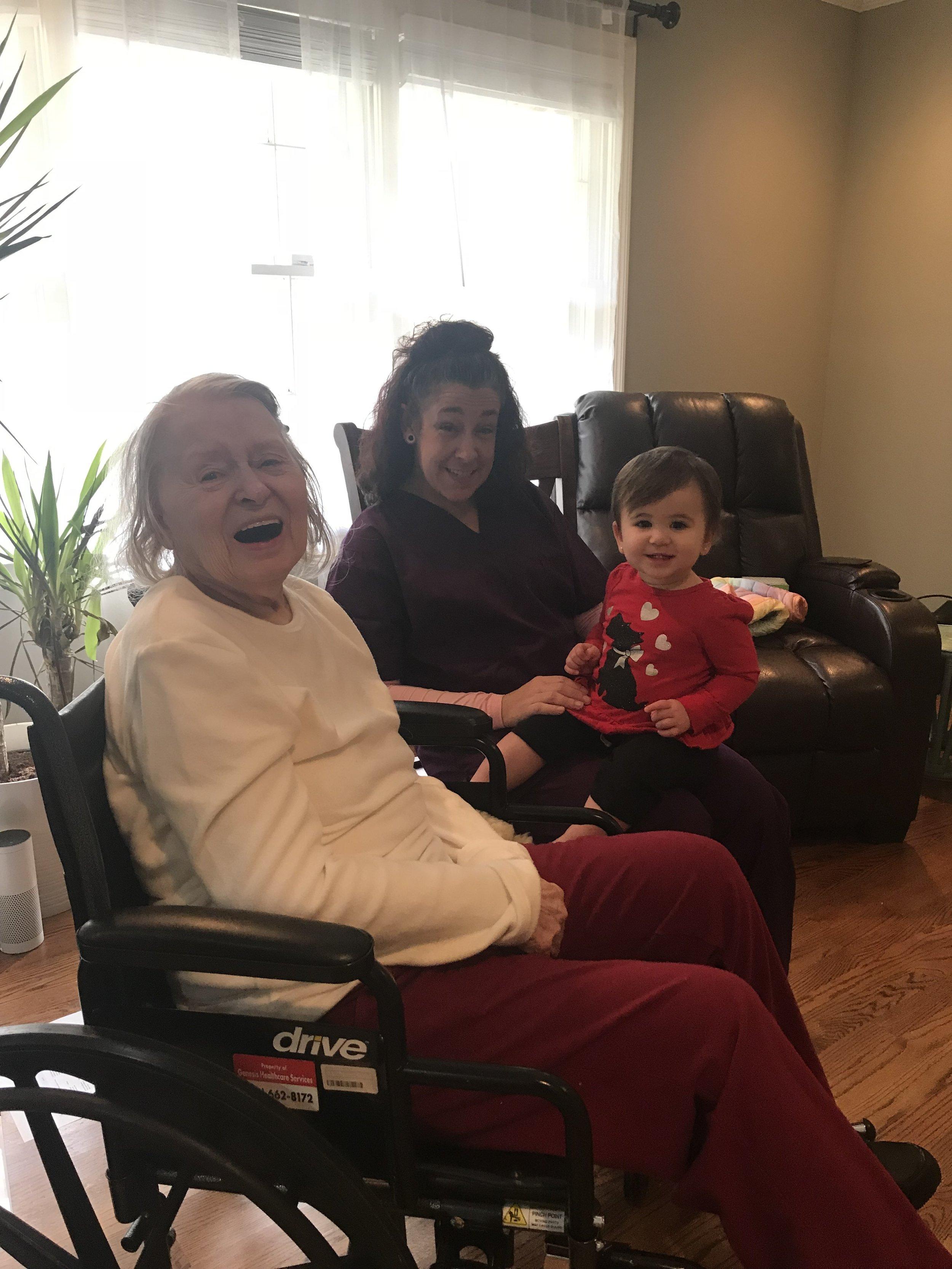 Tanya and Katie visiting Elsie.jpg