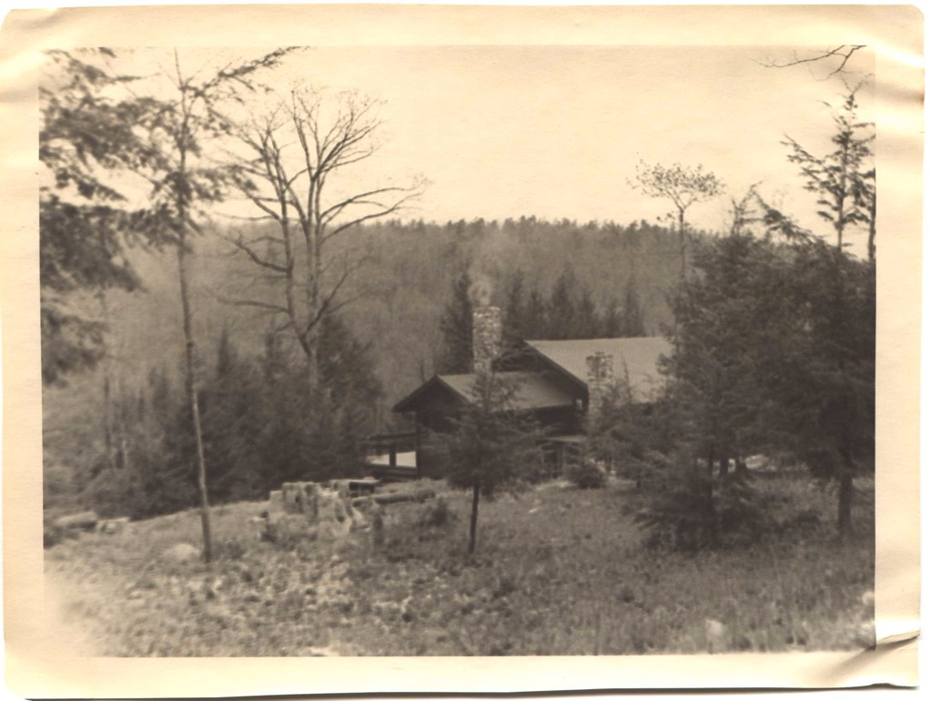 The Lodge, in all of its glory, circa 1940