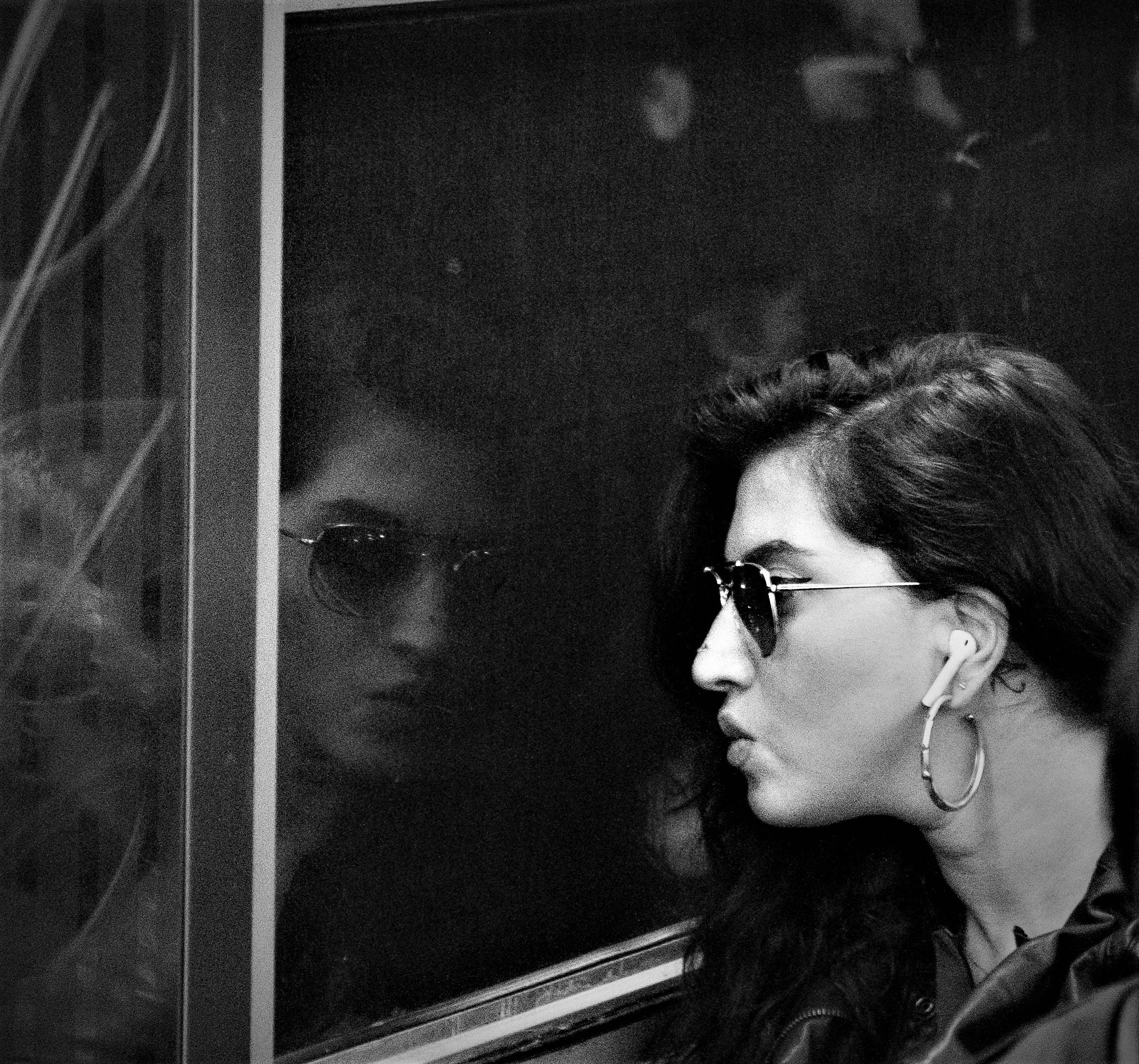 NYC:  Subway Pose