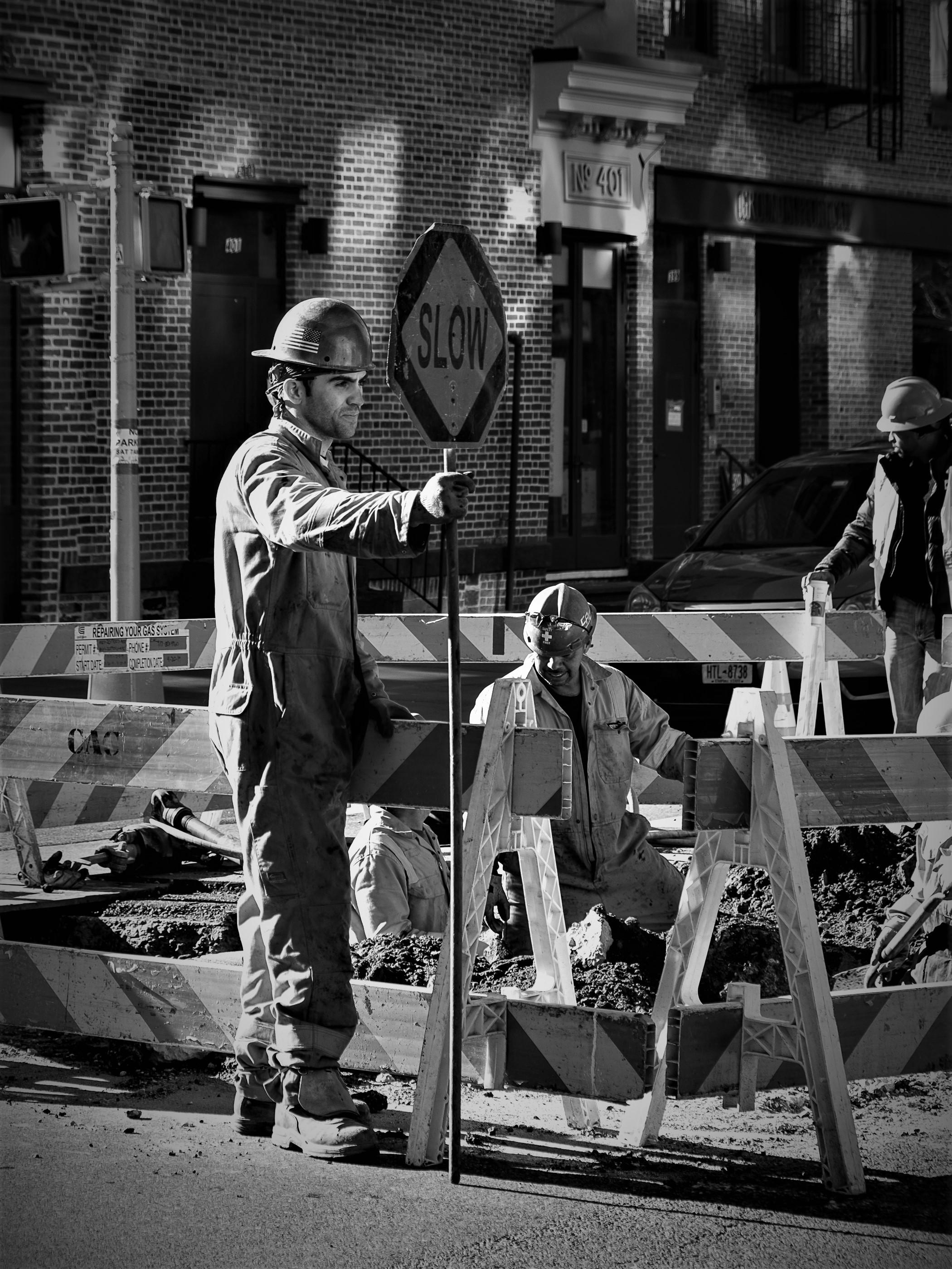 NYC:  Hunks On The Street