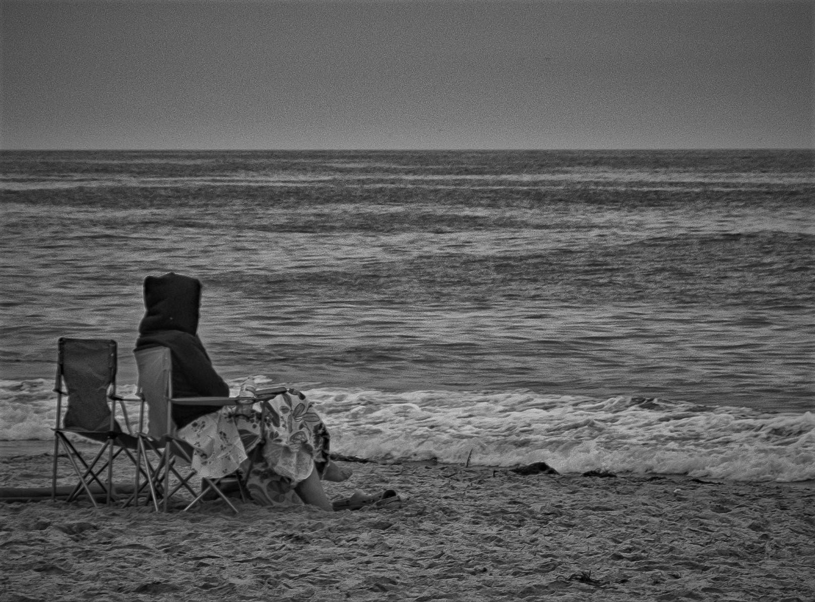 On the Beach:  Laguna Beach
