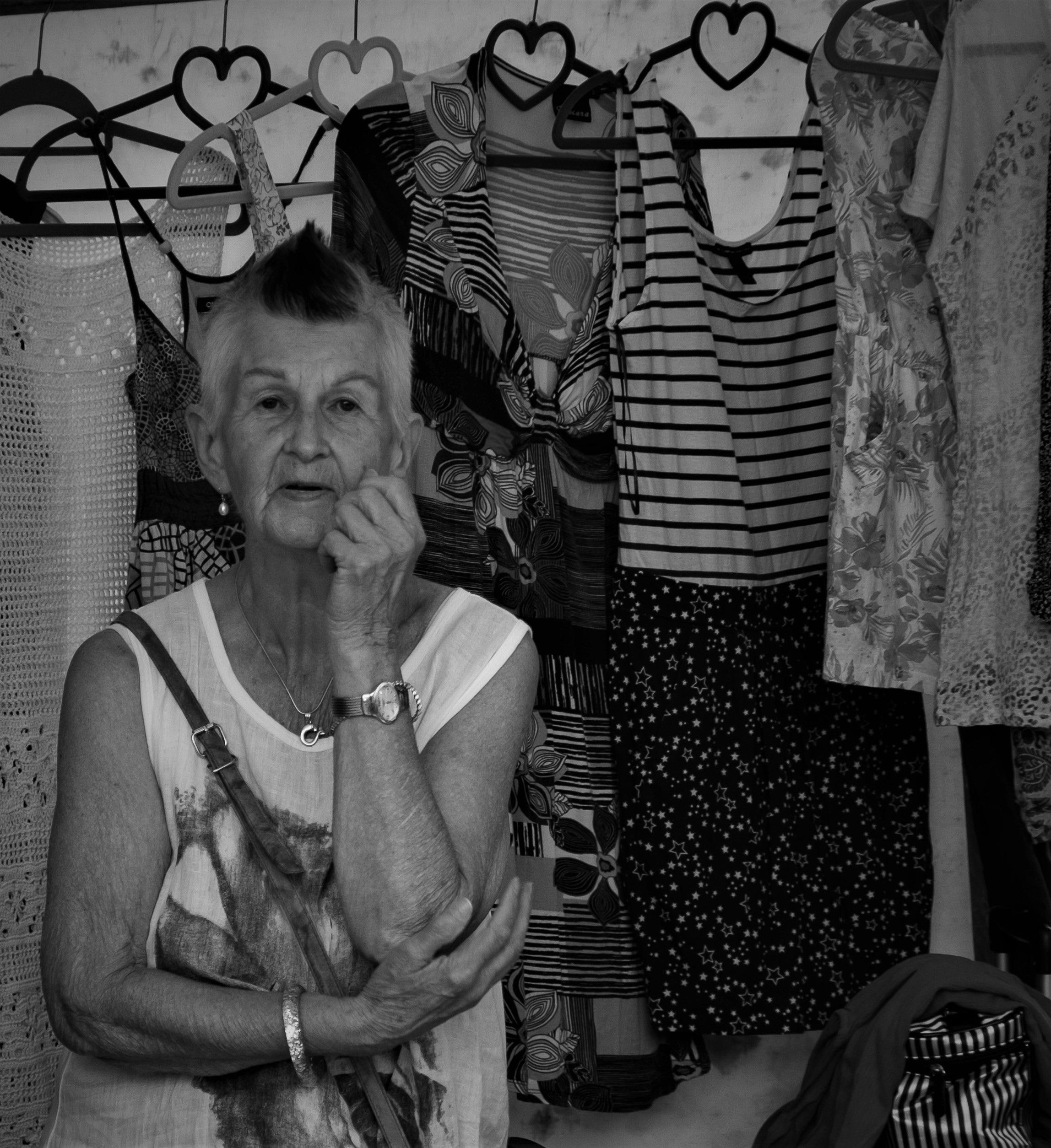 Lady of Berlin:  Flea Market