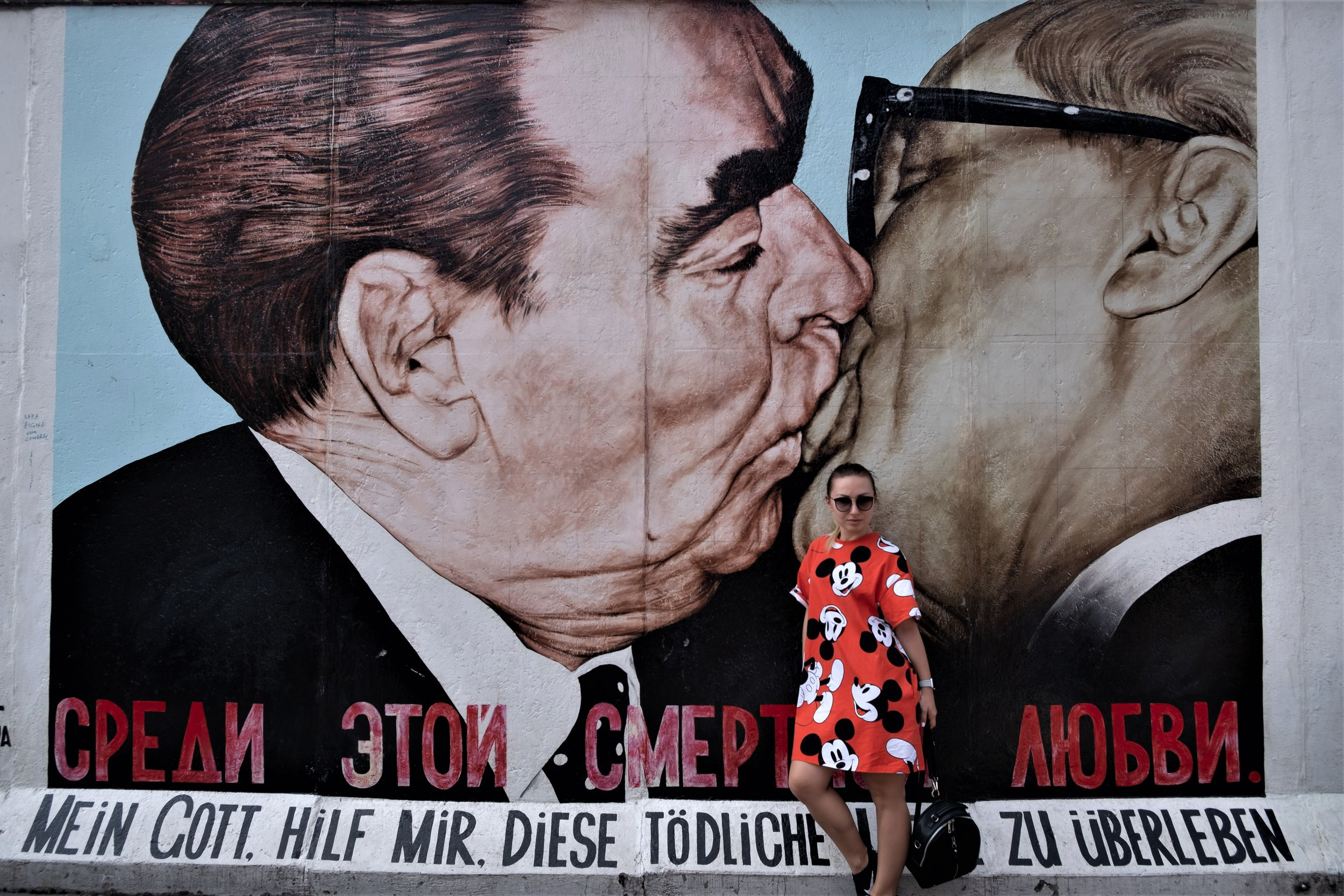 Berlin Wall and Mickey:  Berlin