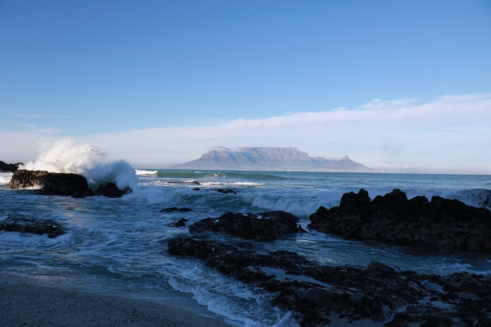 Early morning Bloubergstrand,, the best view of Table Mountain.