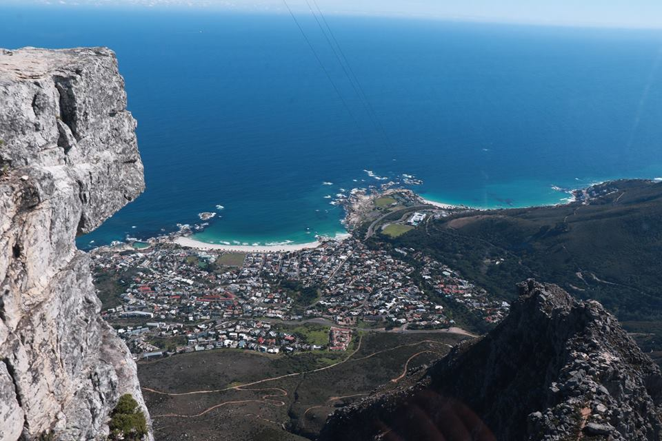 Aerial view of Camps Bay…