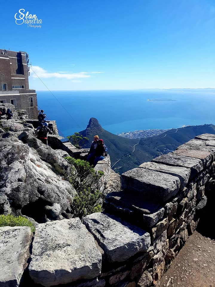 Looking out towards Lions Head…. before going down….