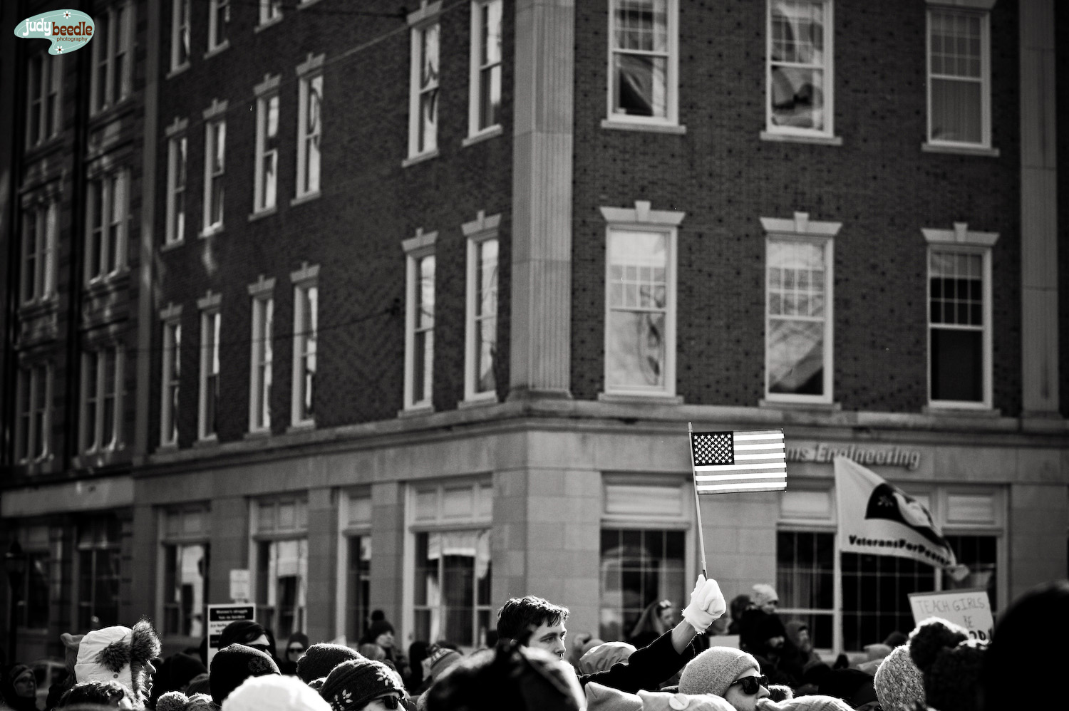 {19/365} Women's March, Portland Maine.