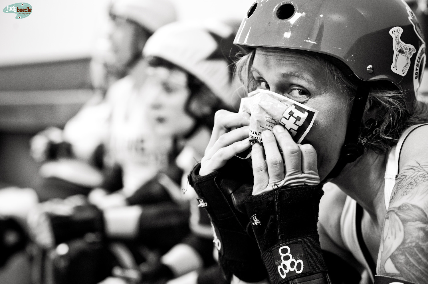 2/2 A hit to the face at roller derby | Happy Wheels | Portland, Maine.