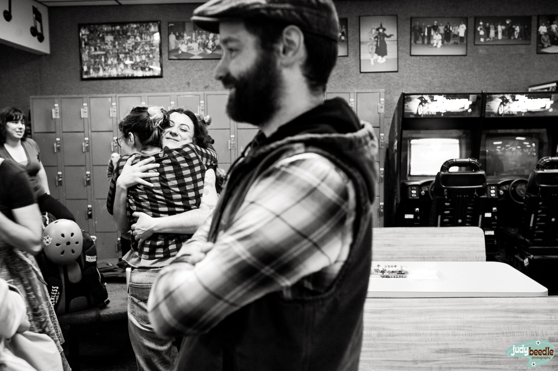 That hug.