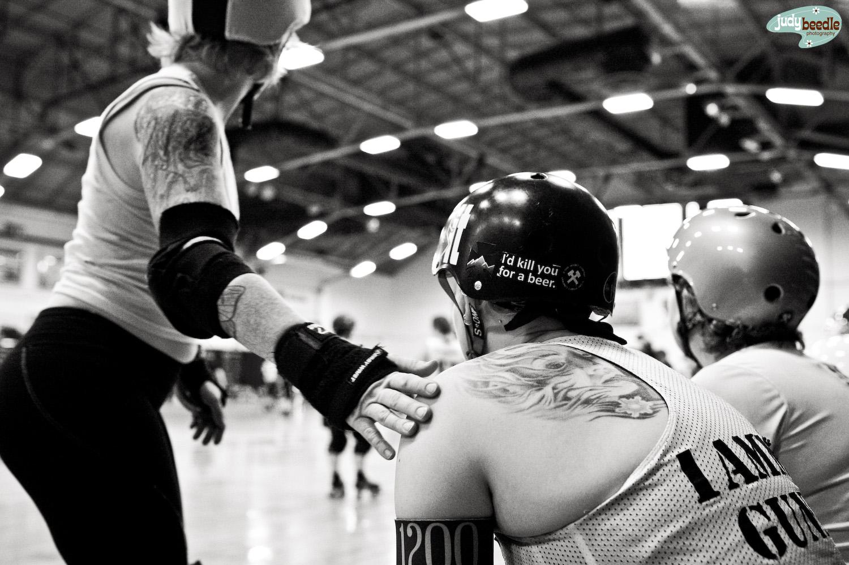 6/3. Maine Roller Derby Practice | Portland Expo | Portland, Maine.
