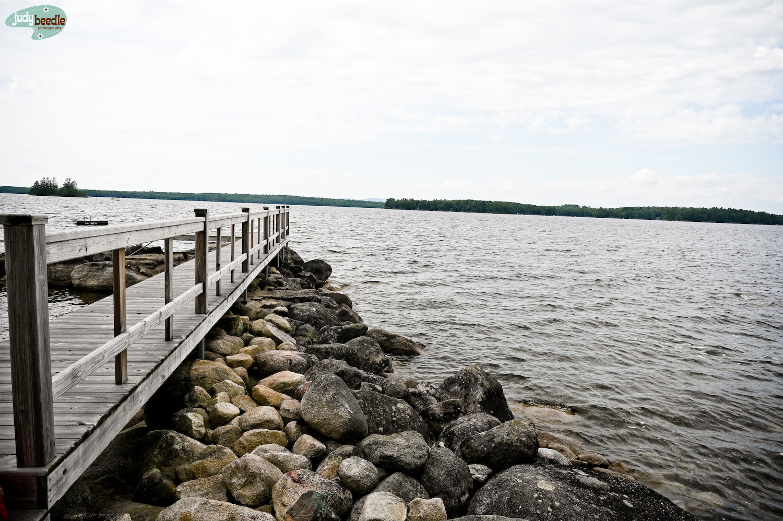 8/22. Sebago Lake.