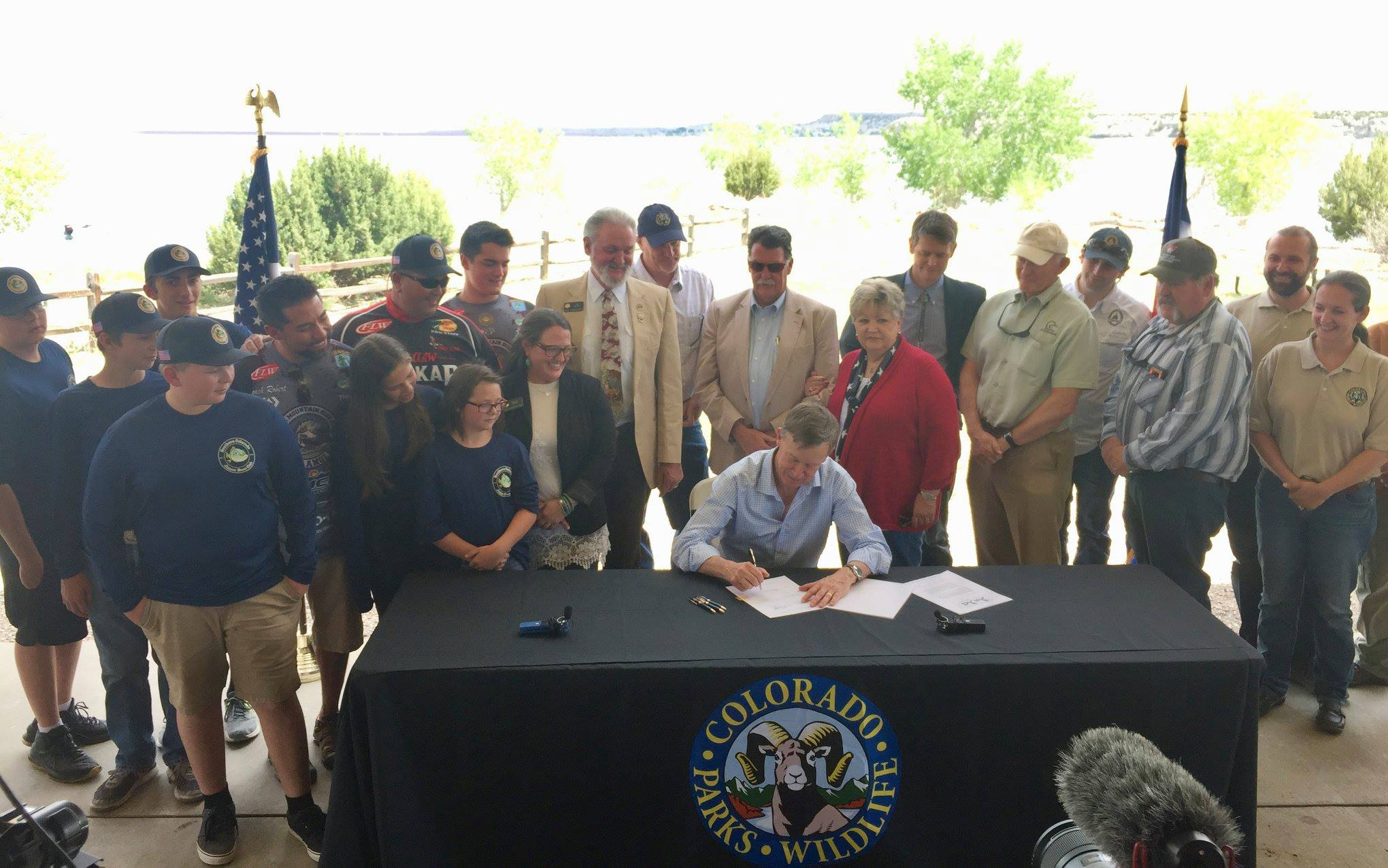 Mussel-free Colorado Act Signing