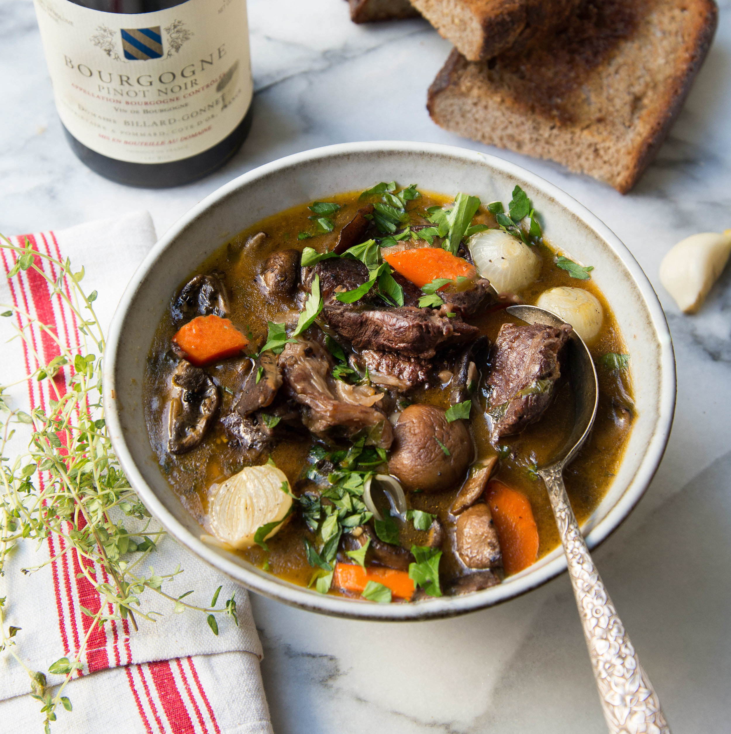 - Julia's Easy Boeuf Bourguignon
