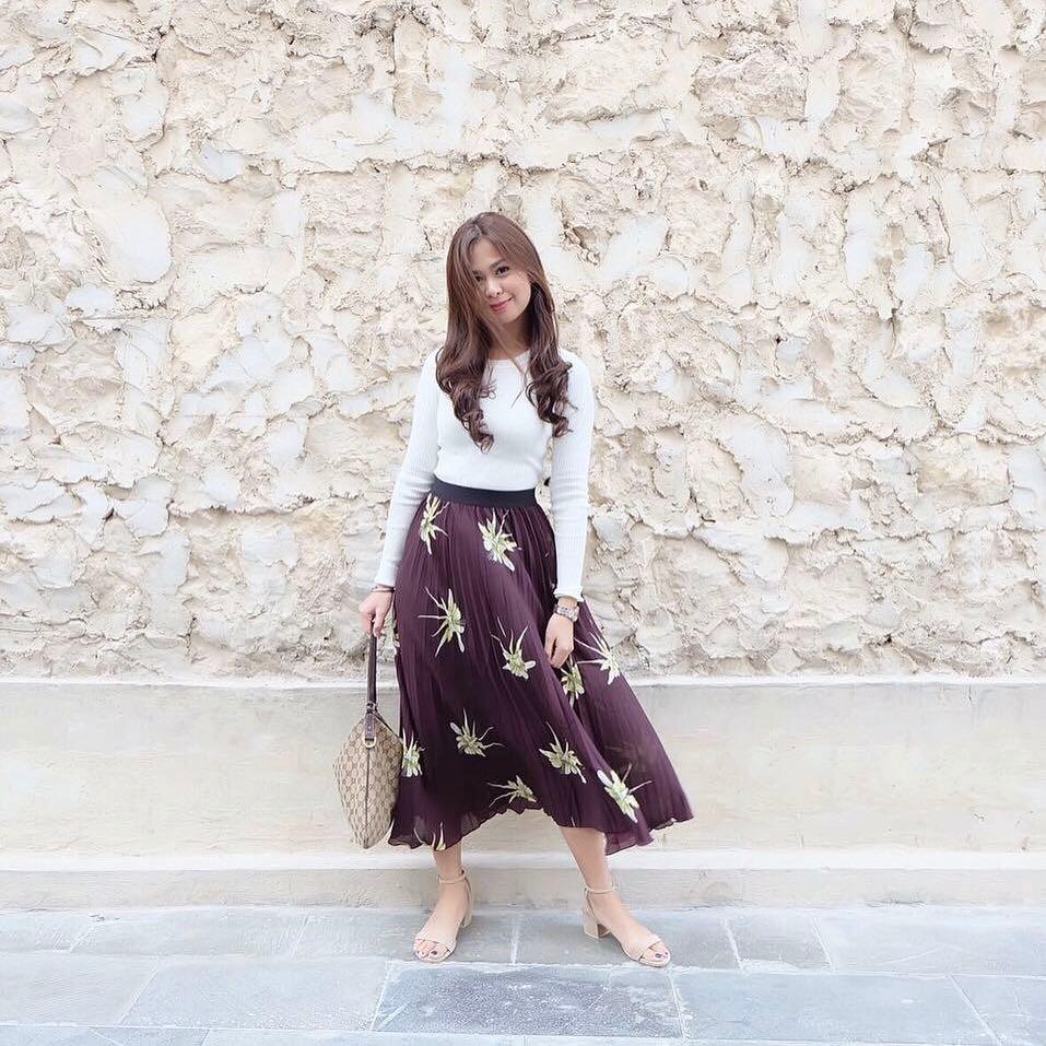 @princessafaye wears The Maïa in beige