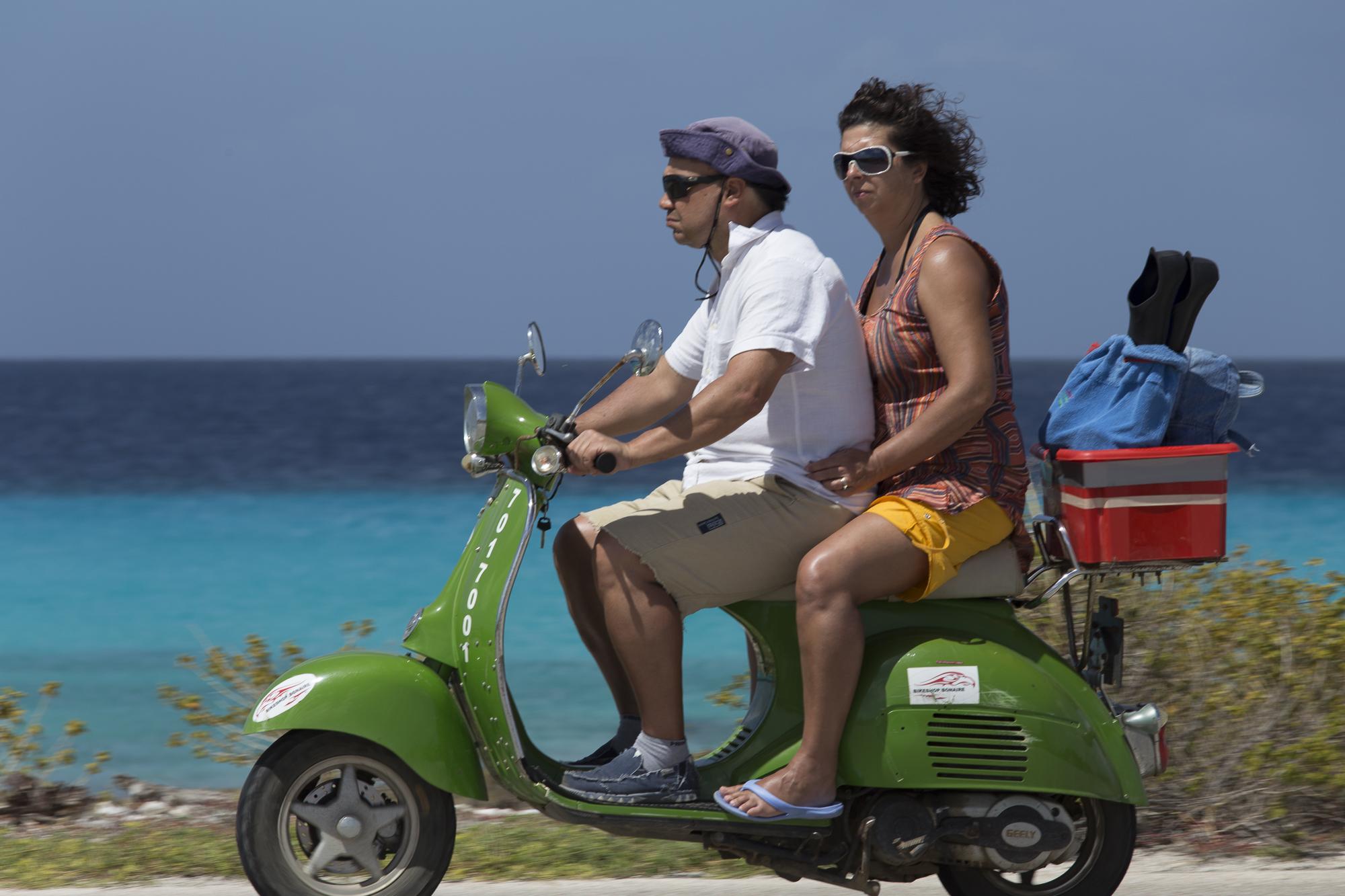 Italianen op Bonaire