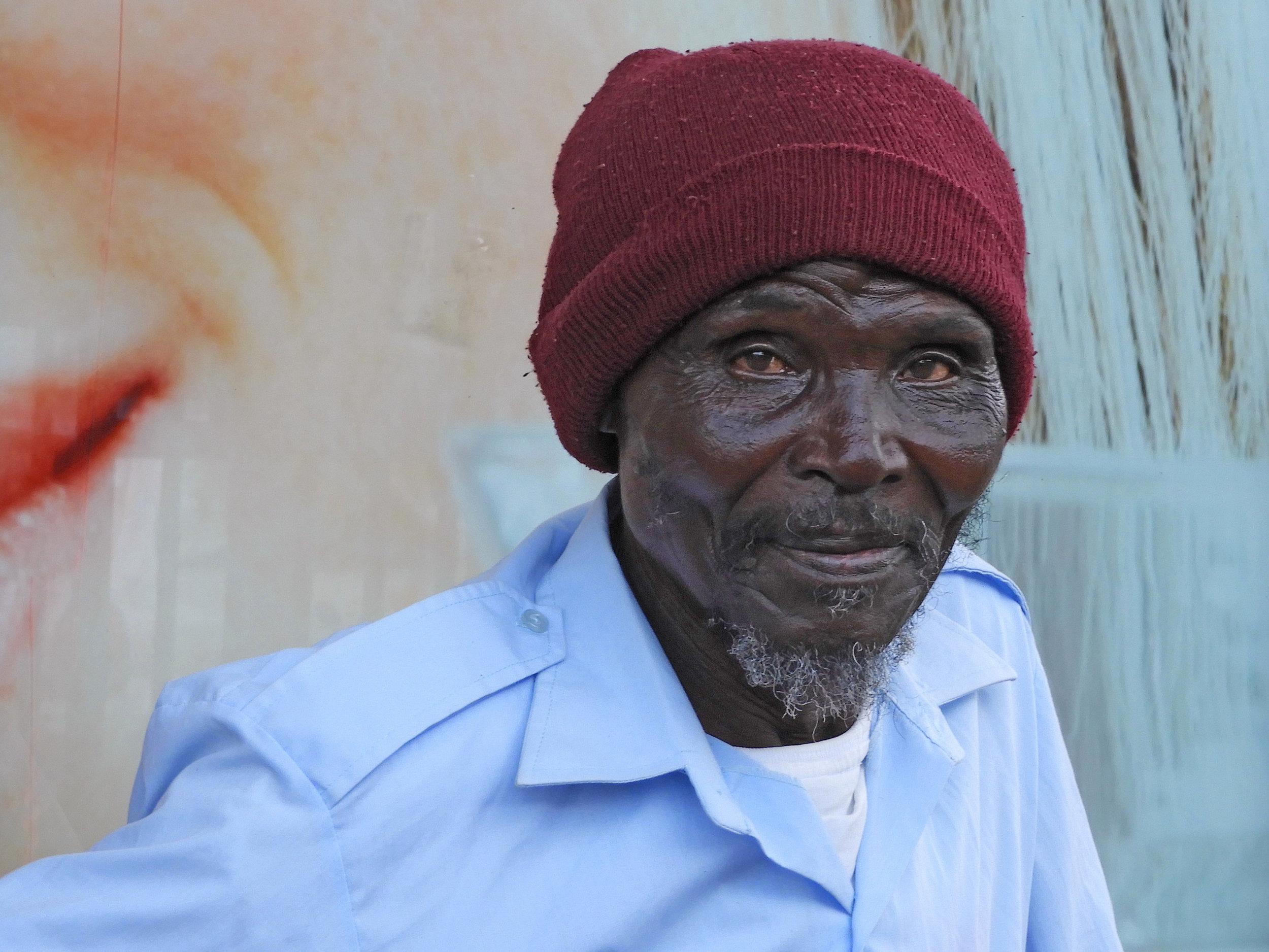 Portret uit Zuid Afrika
