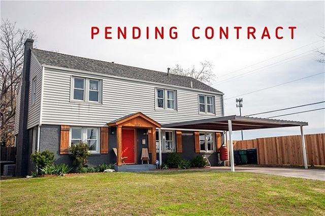 PENDING CONTRACT on this adorable remodeled home! Super excited for my clients! #charlibullardrealestate #remaxpreferredokc  When you're ready to BUY or SELL, I'm ready for you!